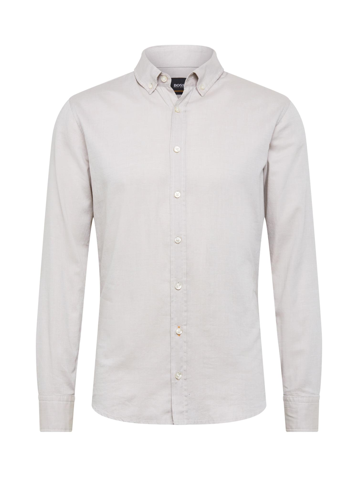 Košile Mabsoot 10216358 01 béžová BOSS