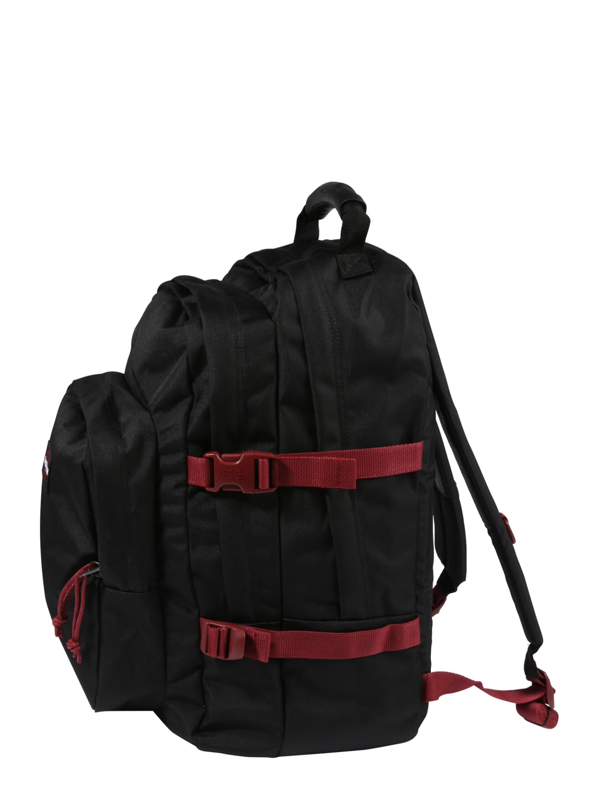 EASTPAK Plecak 'PROVIDER'  czerwony / czarny