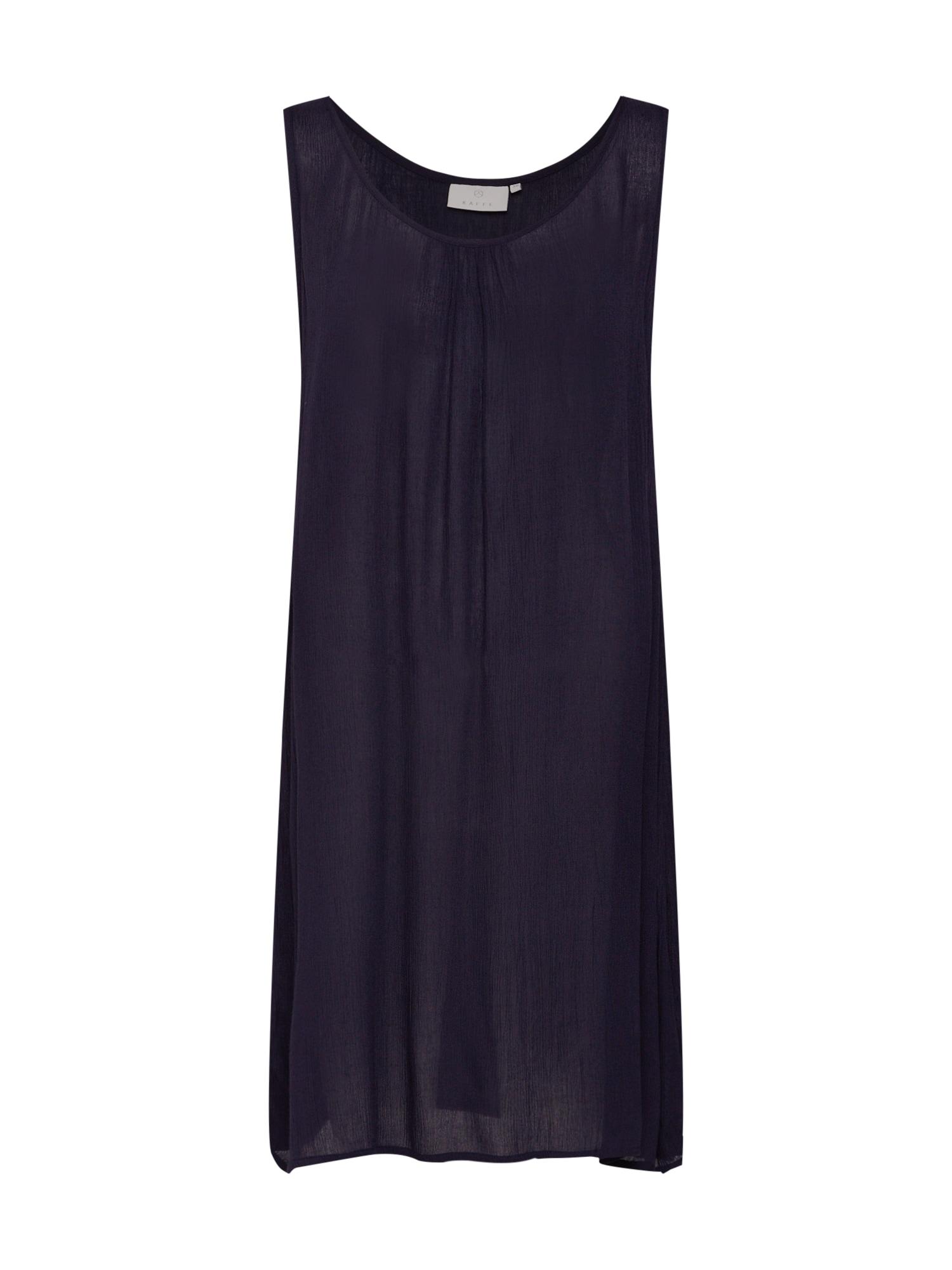 Letní šaty Elina Amber Dress tmavě modrá Kaffe
