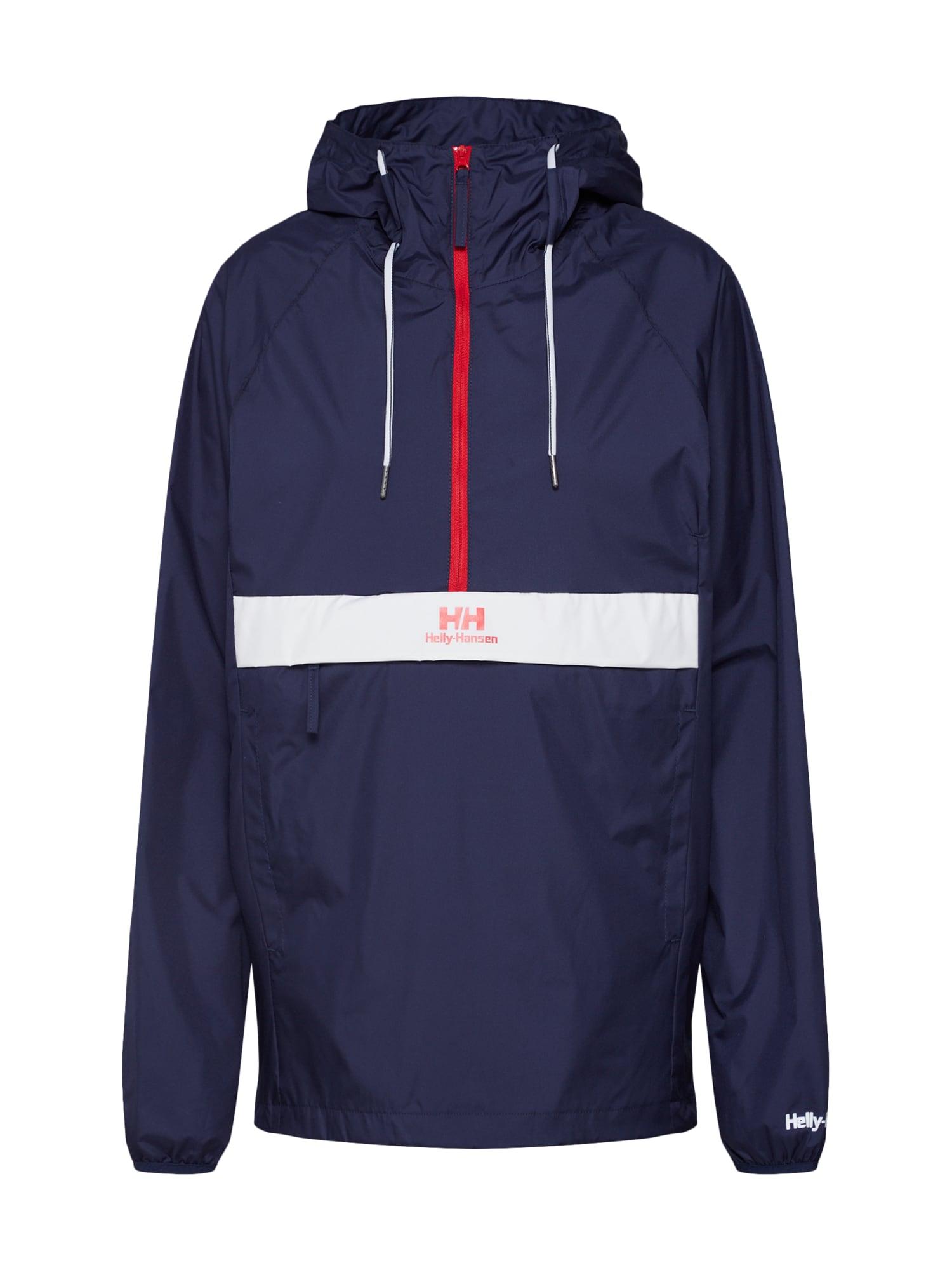 Přechodná bunda URBAN námořnická modř červená bílá HELLY HANSEN