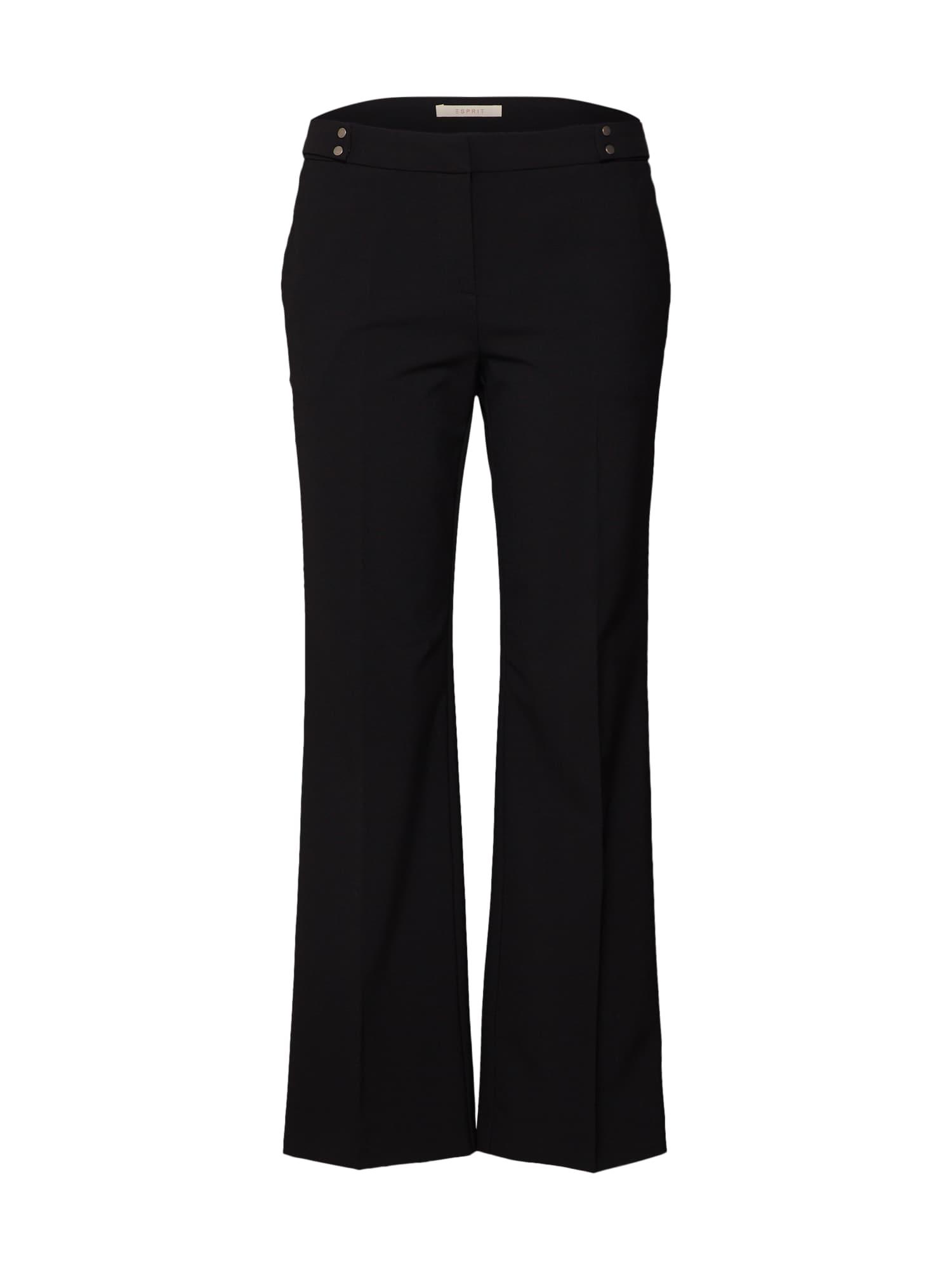 Kalhoty s puky Luella černá ESPRIT