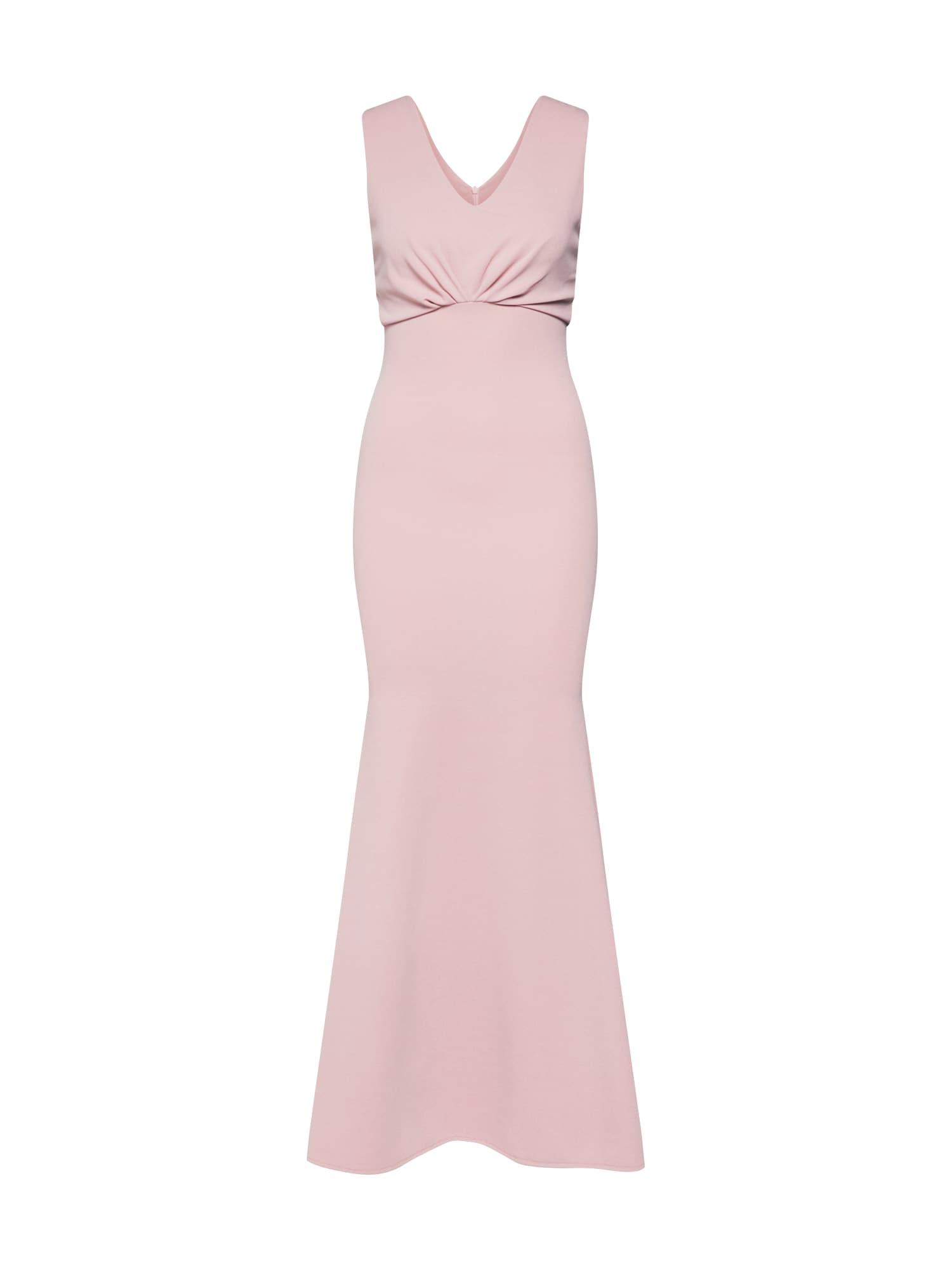 Společenské šaty WG 8513 růžová WAL G.