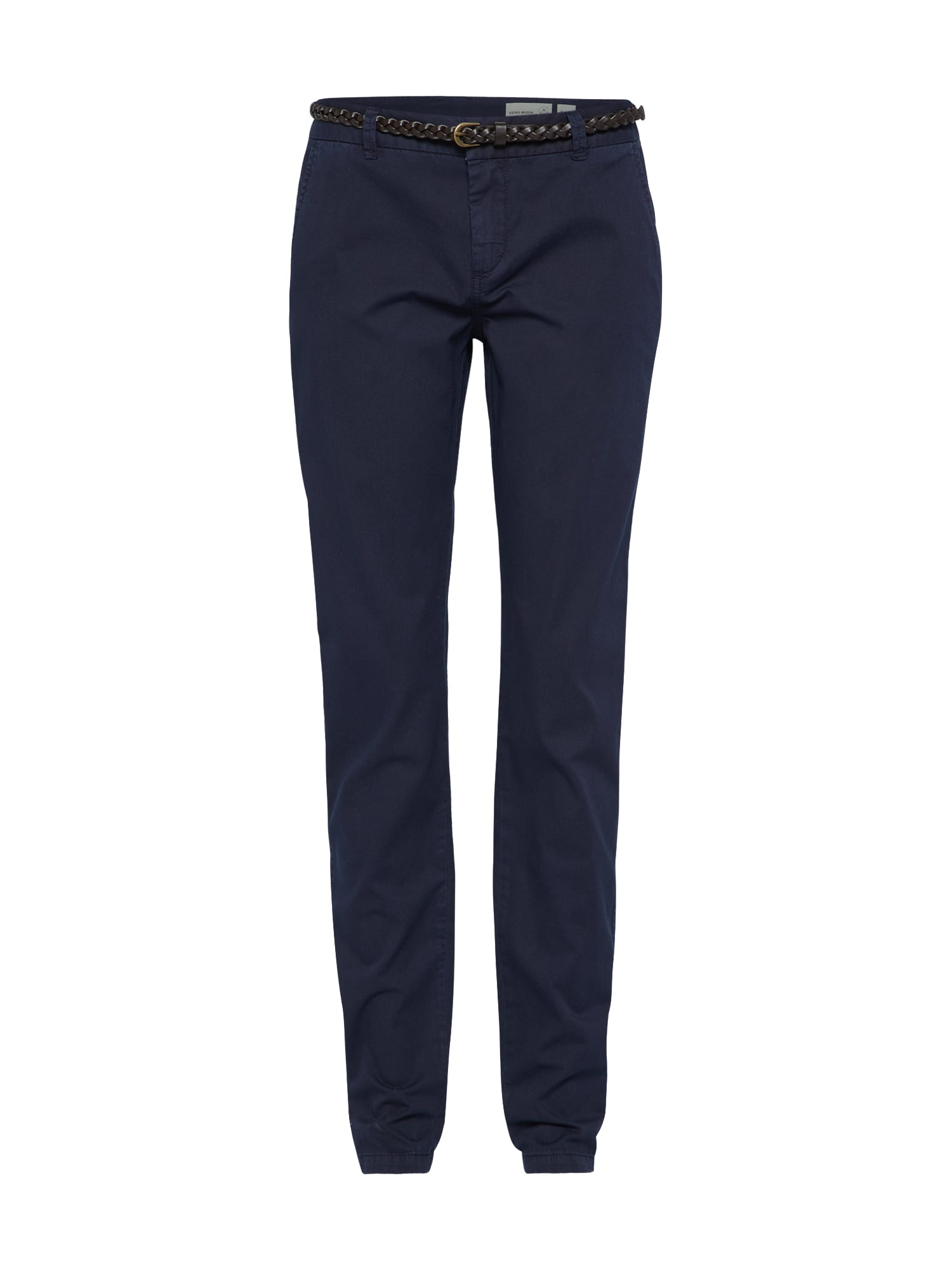 Chino kalhoty noční modrá VERO MODA