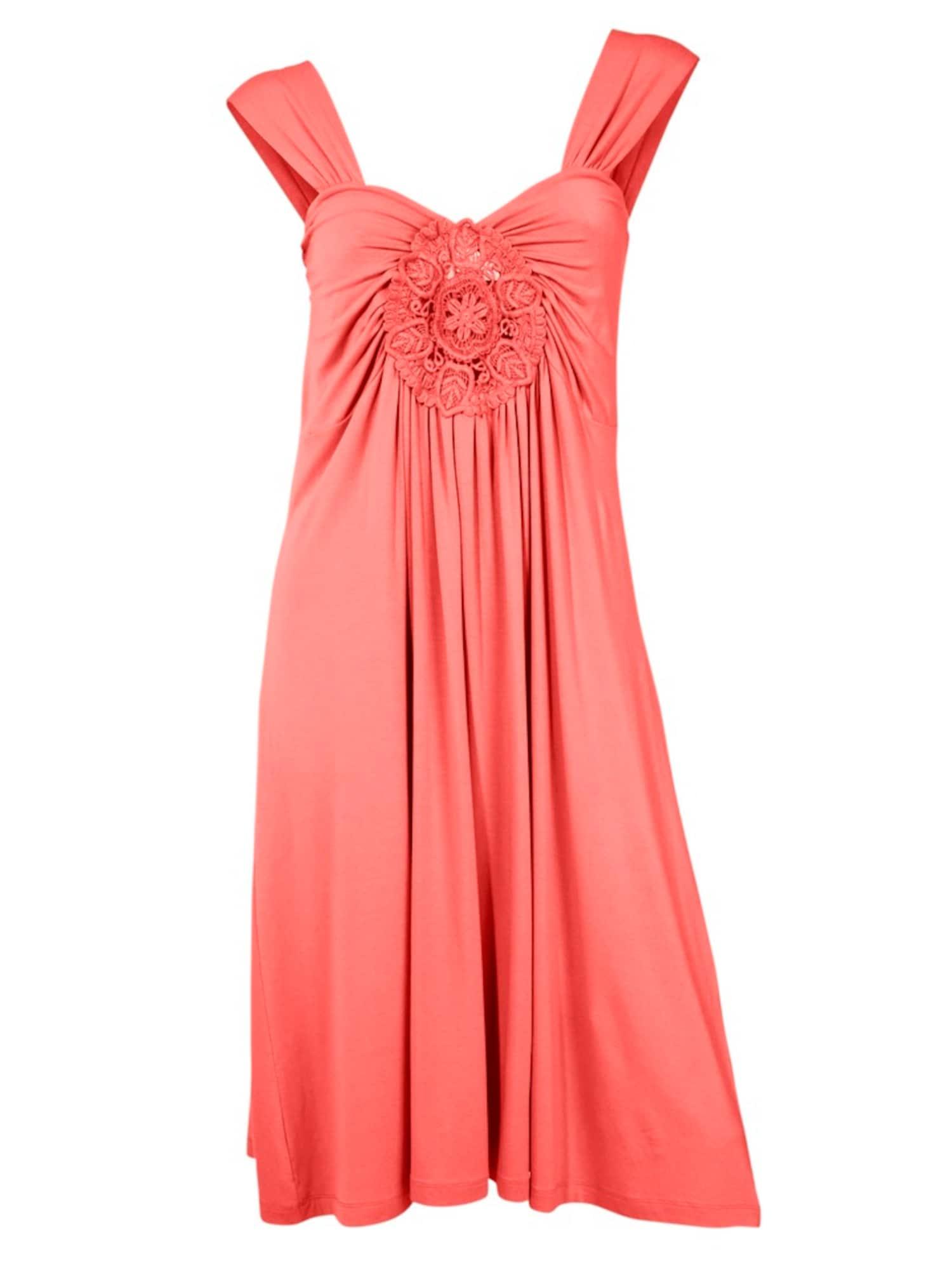 Šaty melounová Heine