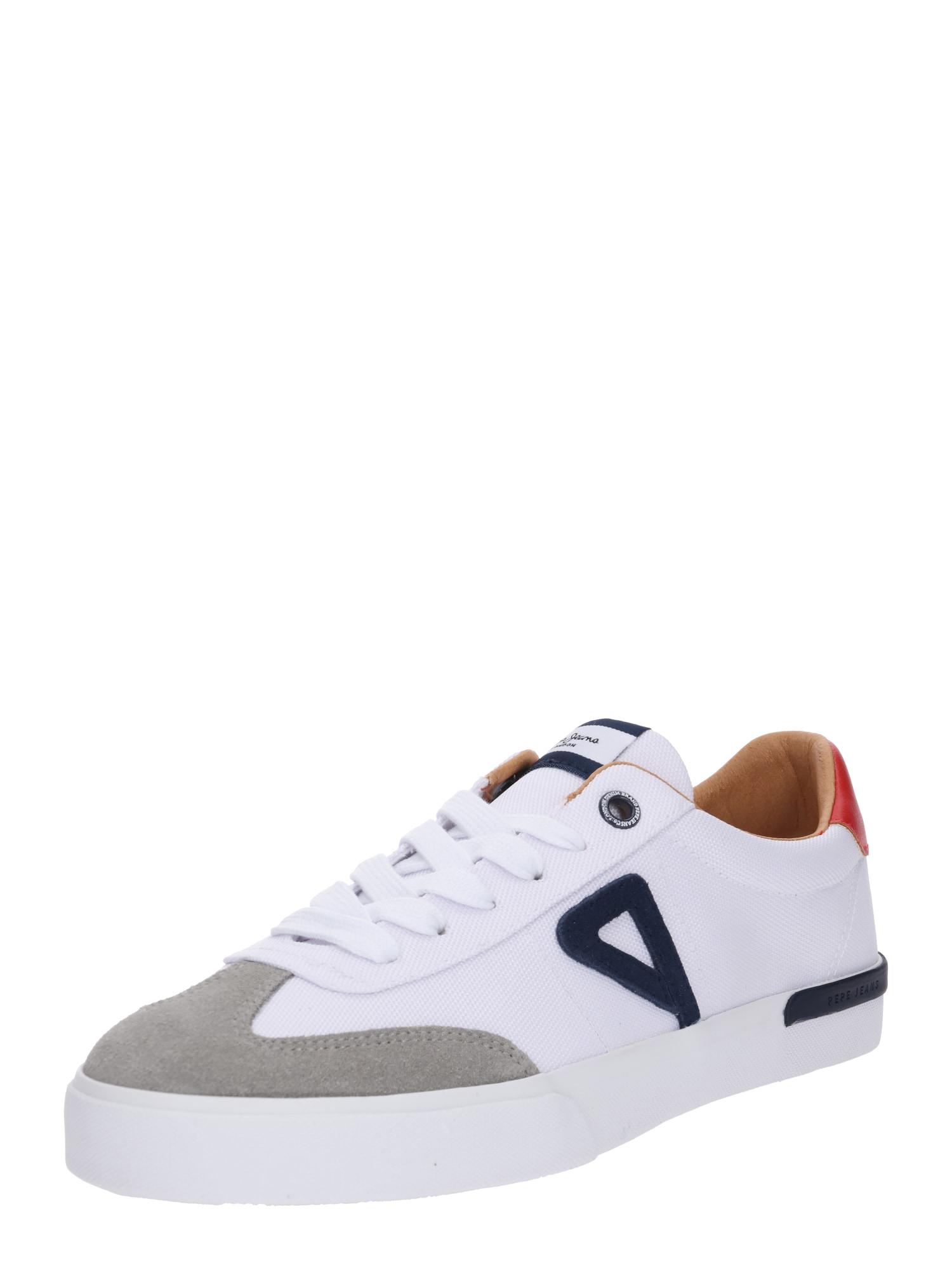 Tenisky North Archive světle šedá bílá Pepe Jeans