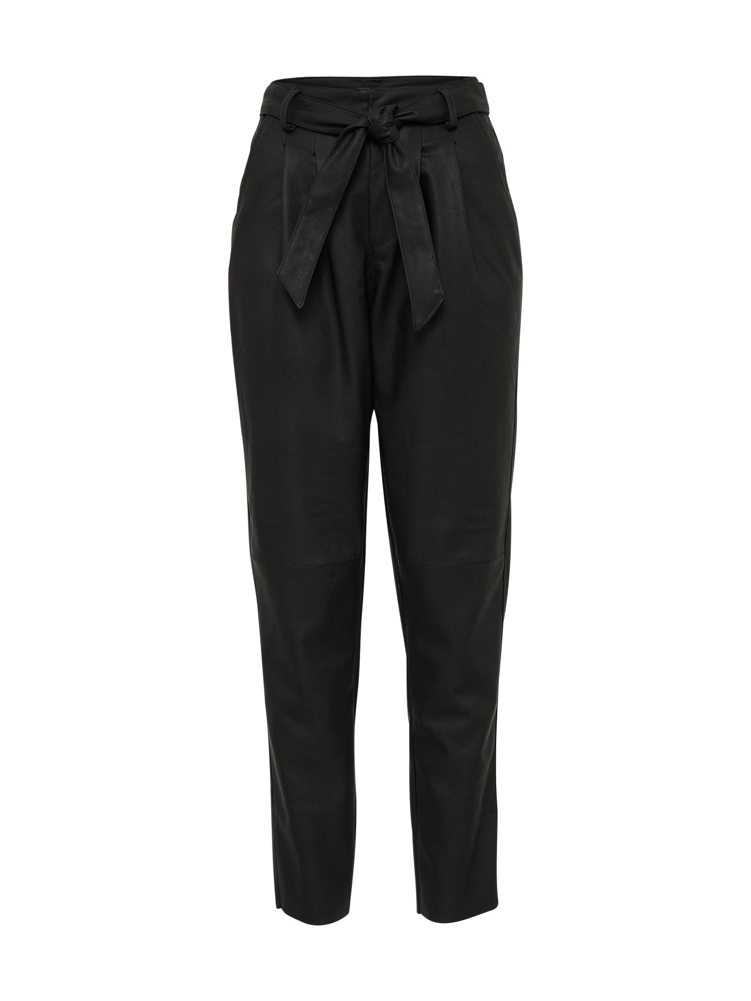 Kalhoty LOA černá VERO MODA