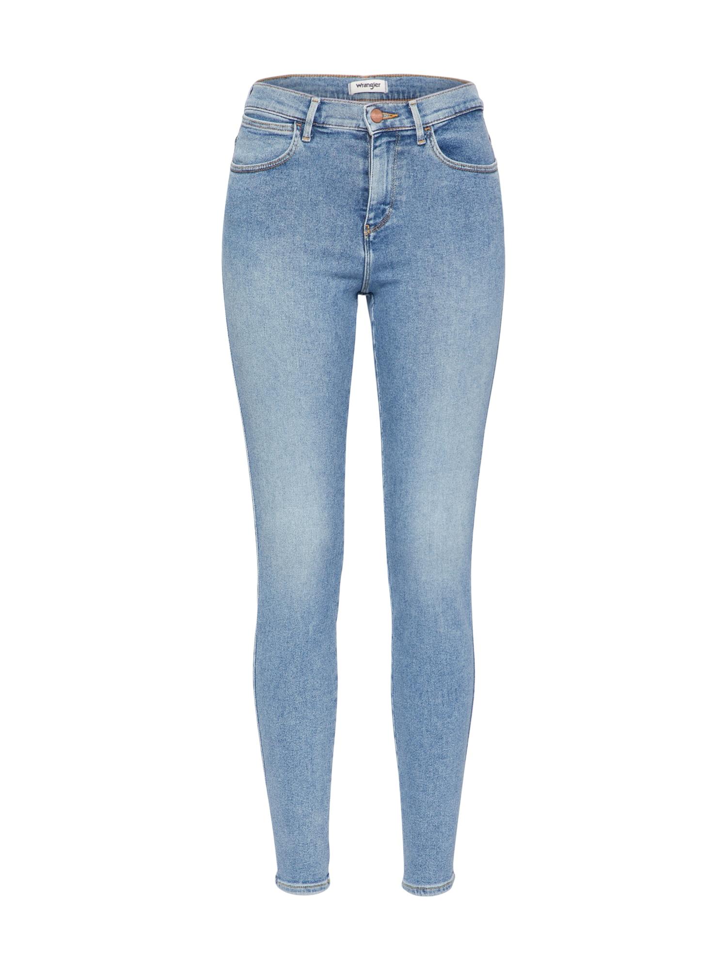 WRANGLER Dames Jeans lichtblauw