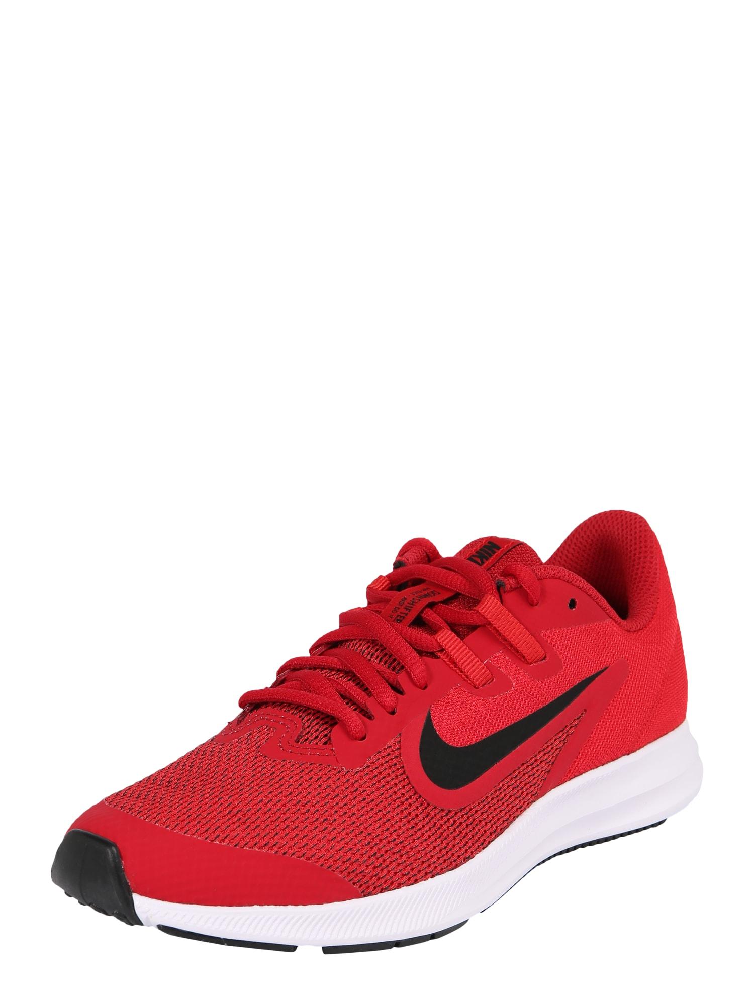 Sportovní boty Downshifter 9 červená černá NIKE