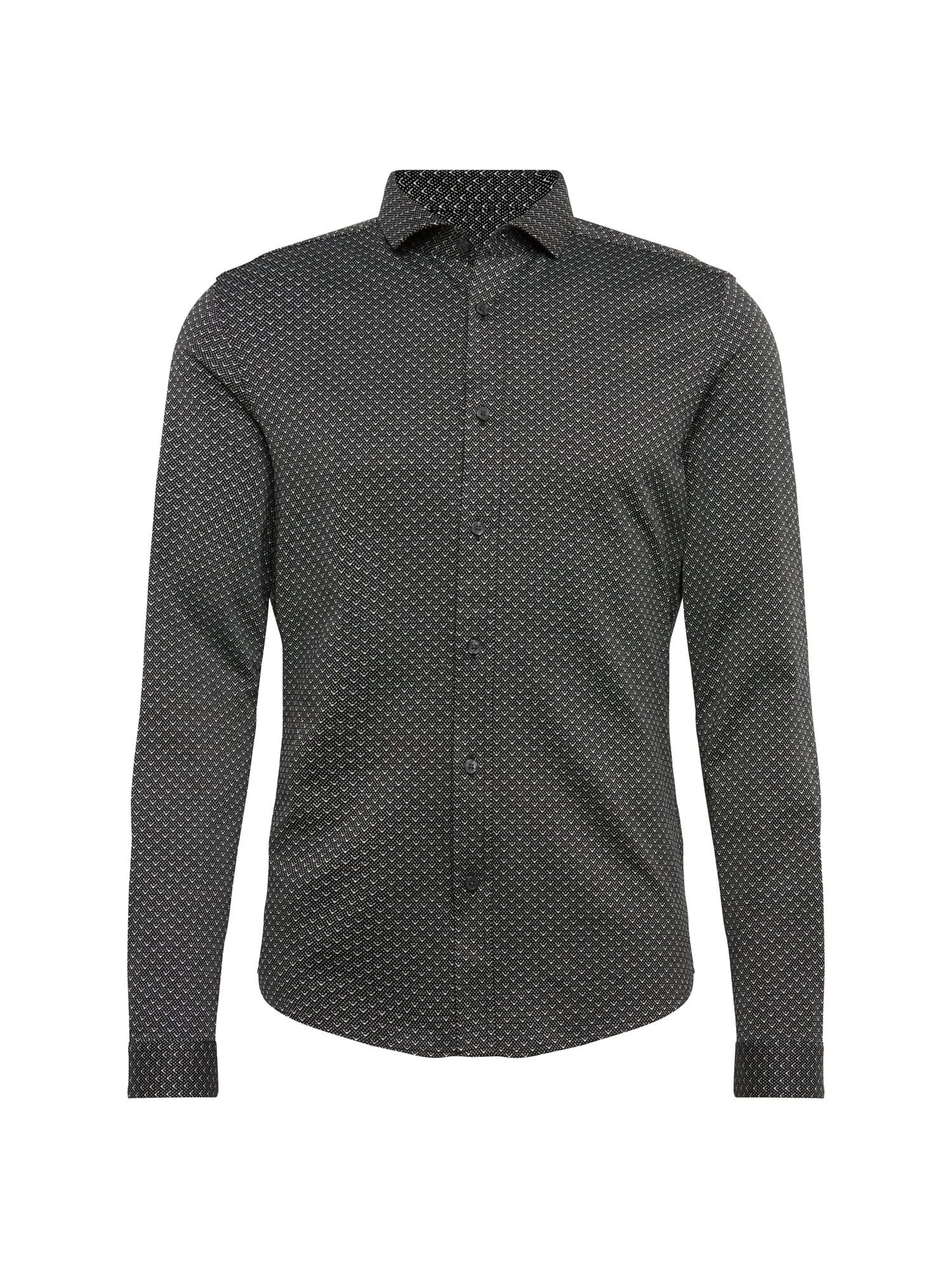 Košile SOLO černá bílá DRYKORN