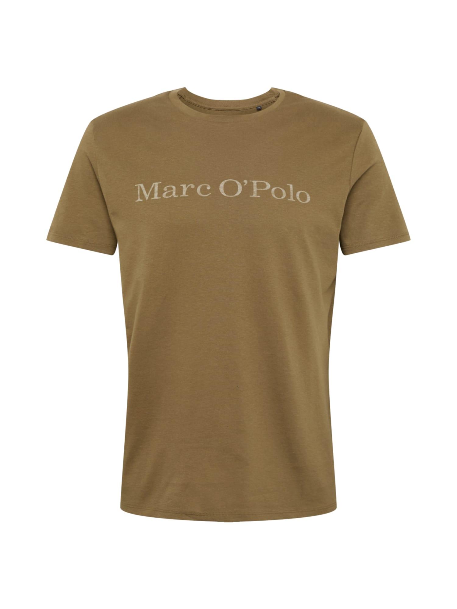Marc OPolo Tričko olivová Marc O'Polo