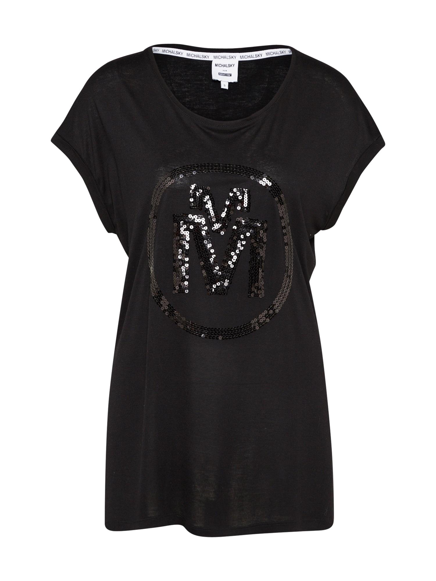 Tričko Josina černá MICHALSKY FOR ABOUT YOU