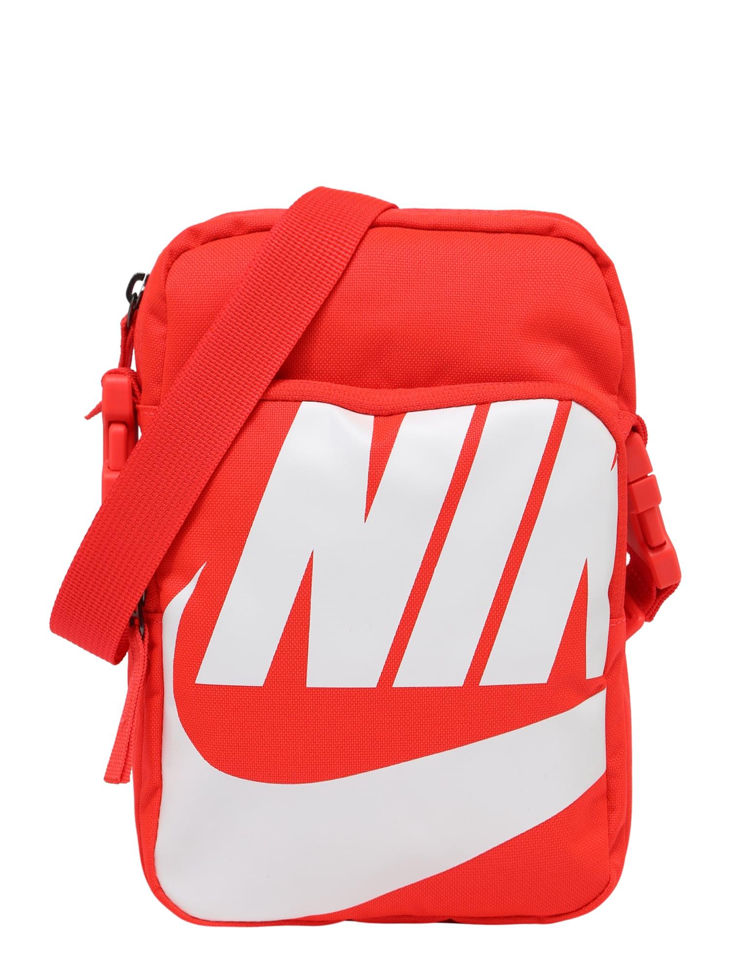 Taška přes rameno svítivě oranžová Nike Sportswear