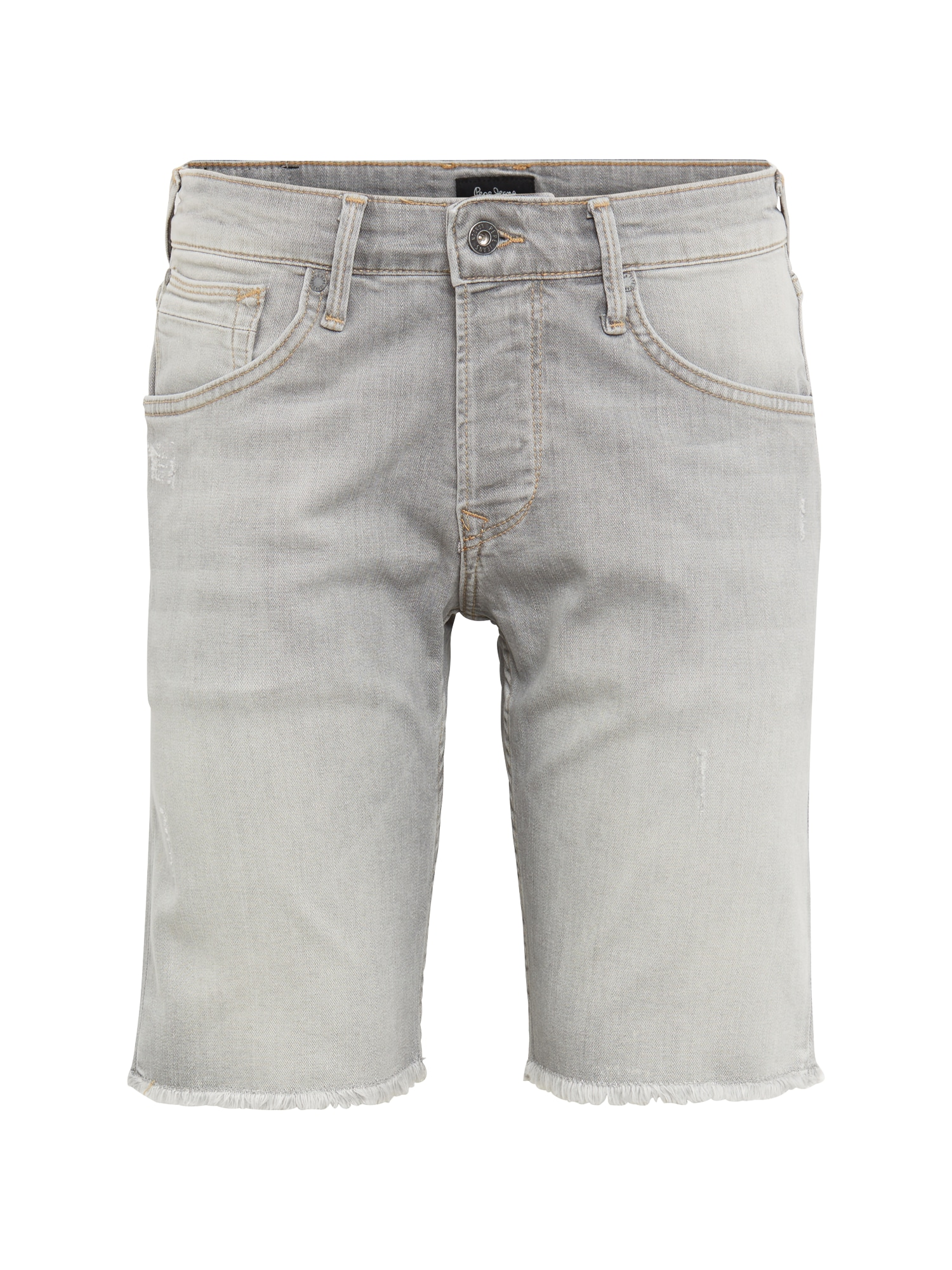 Pepe Jeans Heren Broek CHAP SHORT URBAN GREY grey denim