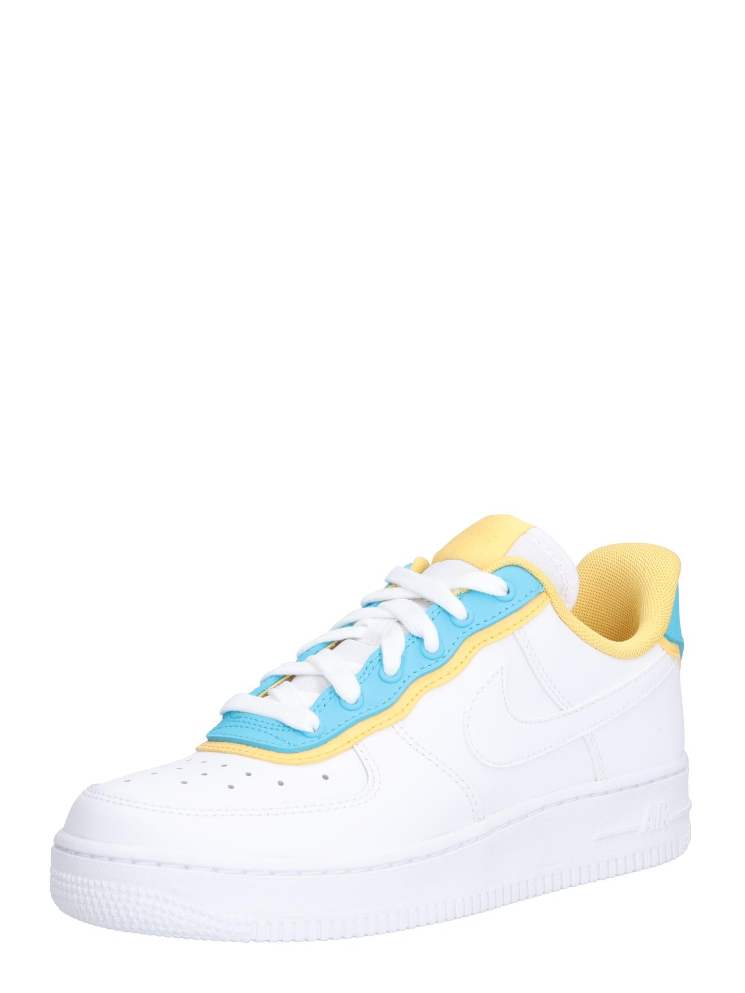 Tenisky Air force 1 07 zlatá mátová bílá Nike Sportswear