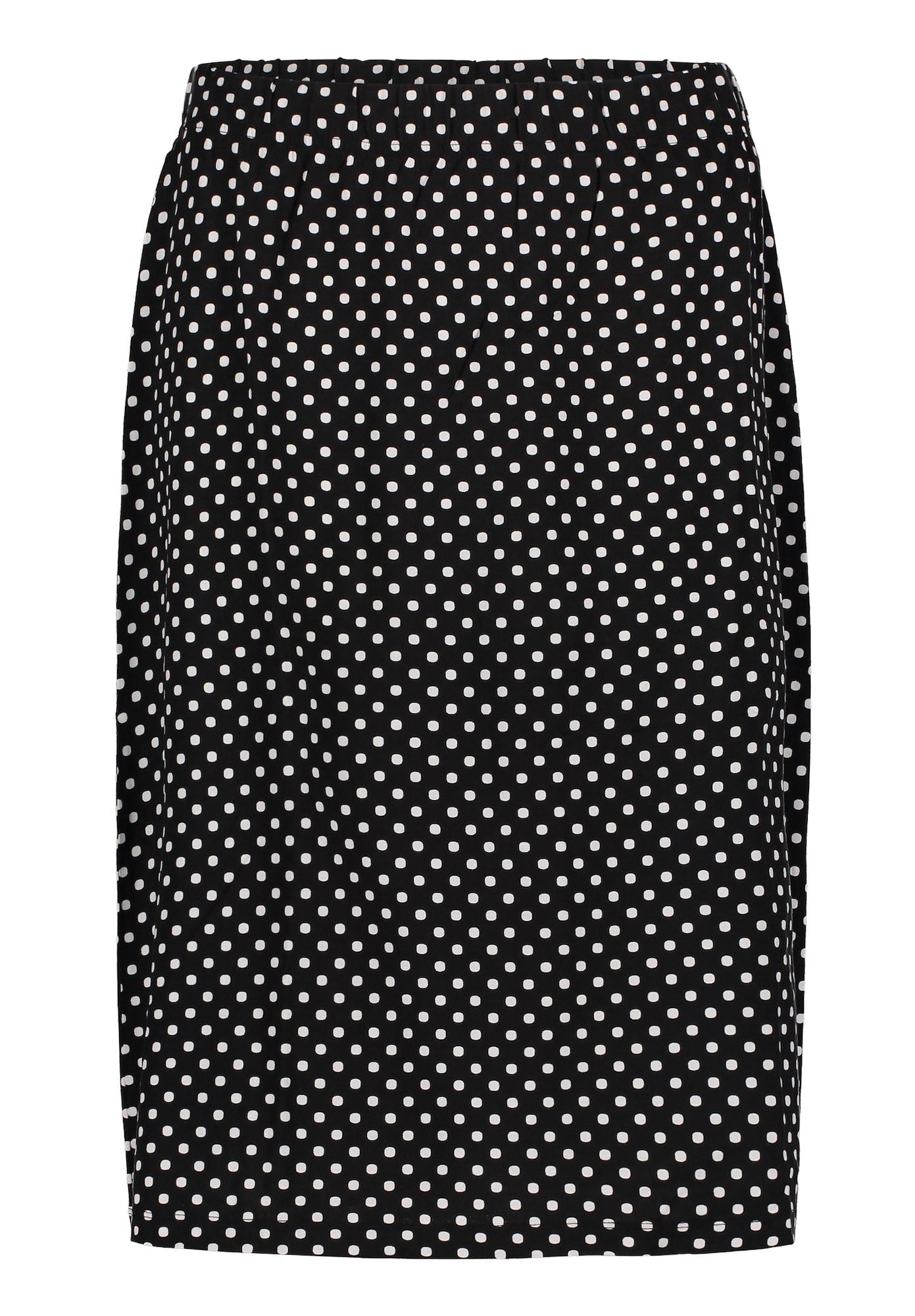 Jerseyrock   Bekleidung > Röcke > Jerseyröcke   Schwarz - Weiß   Betty Barclay