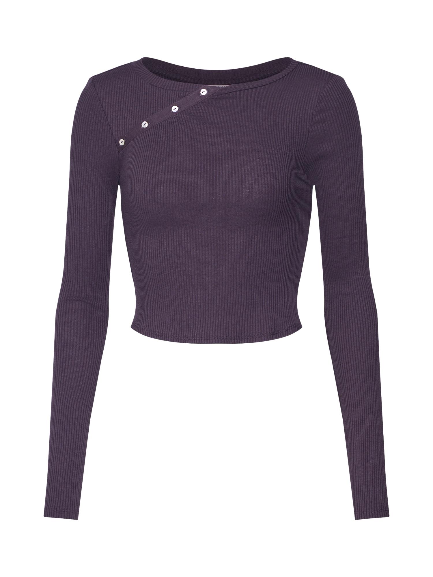 Tričko tmavě fialová Review