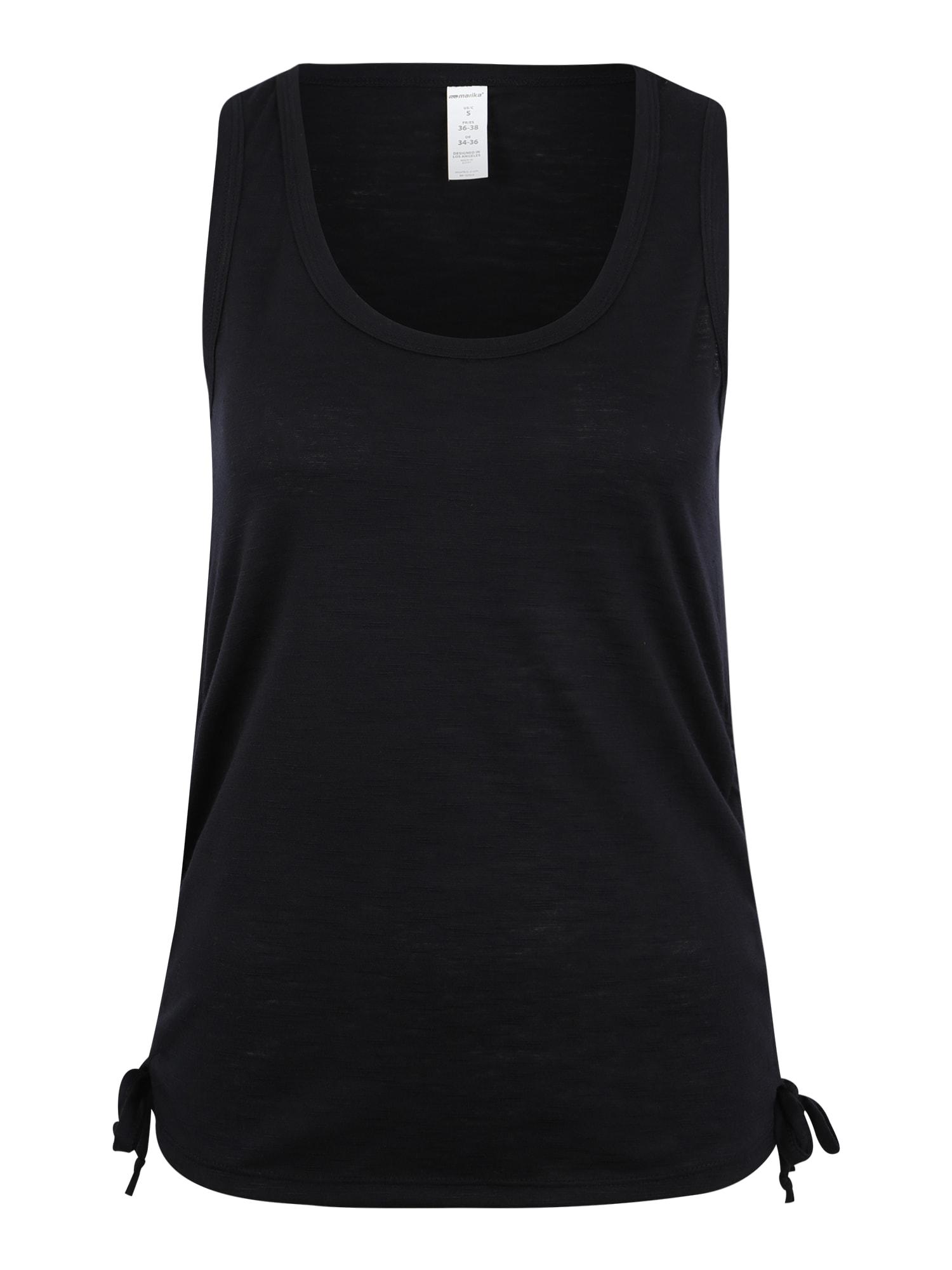 Funkční tričko MARGOT černá Marika