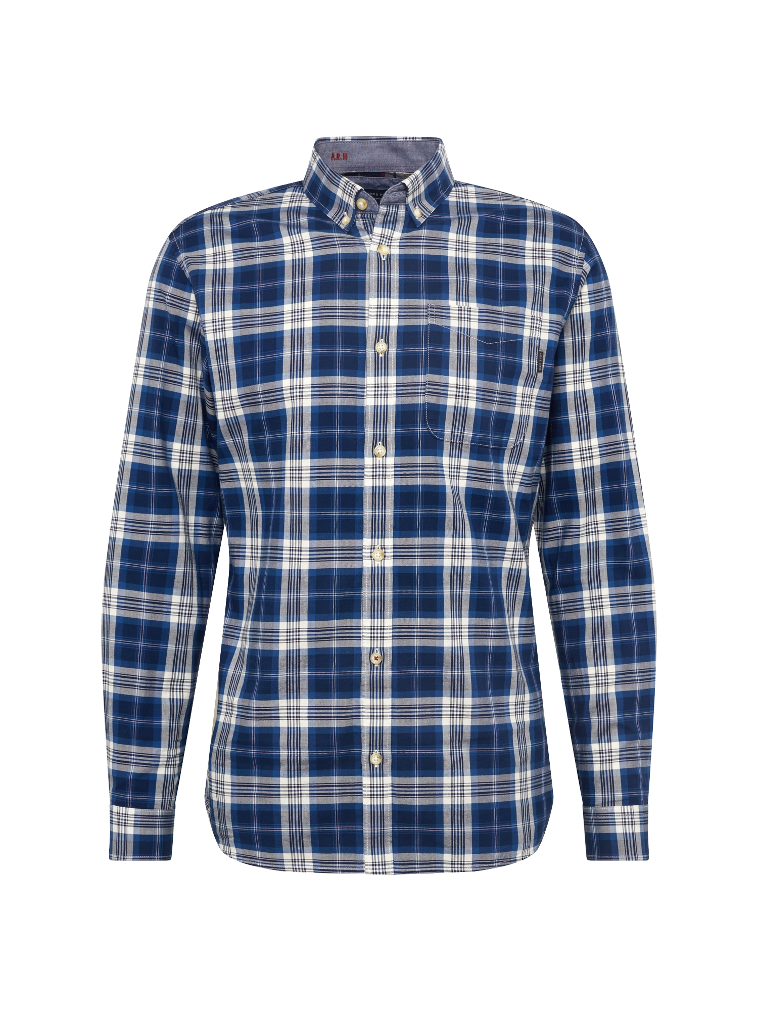 Košile HOWLIN námořnická modř bílá JACK & JONES