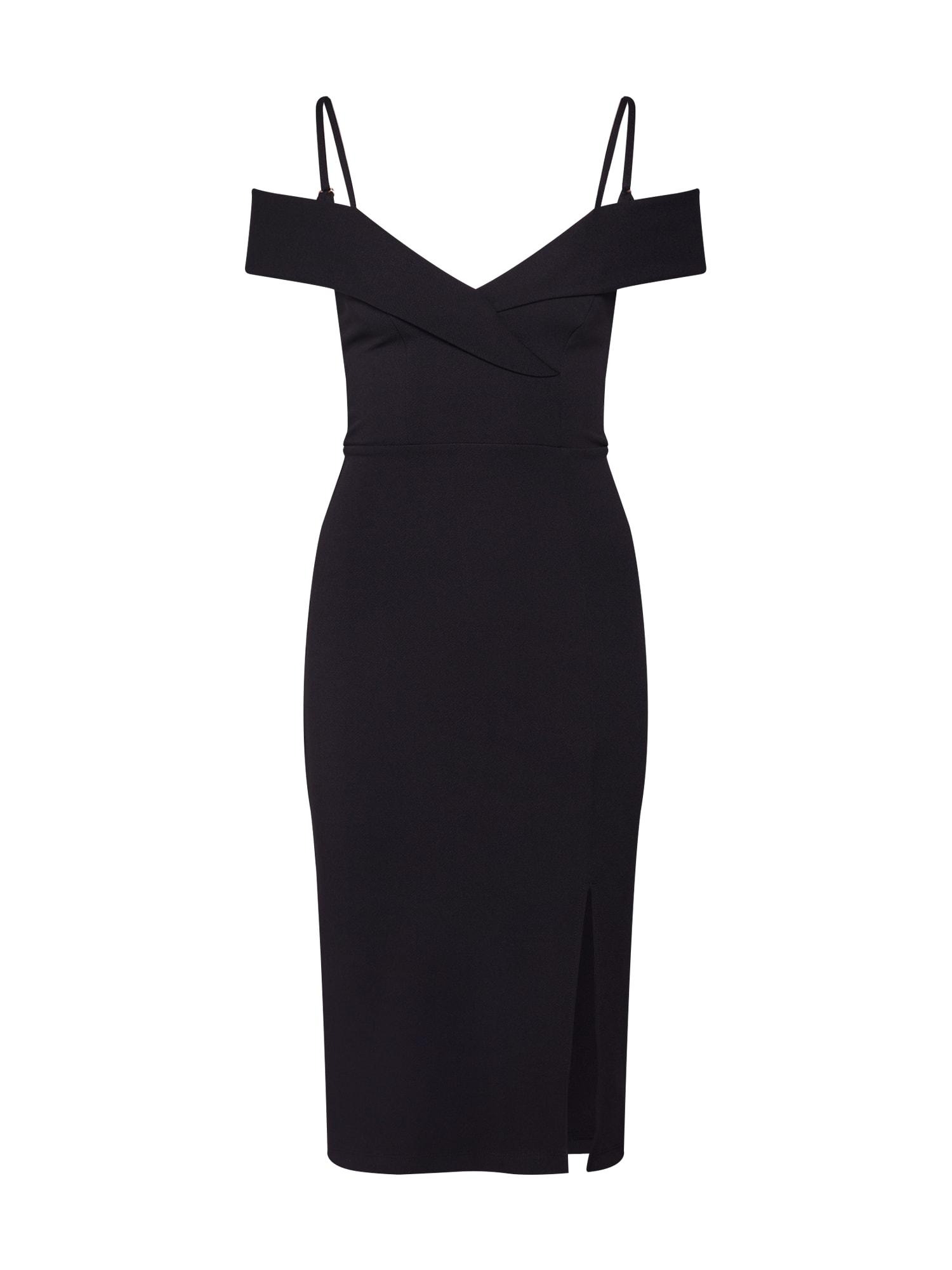 NEW LOOK Společenské šaty 'GO BARDOT TUX'  černá