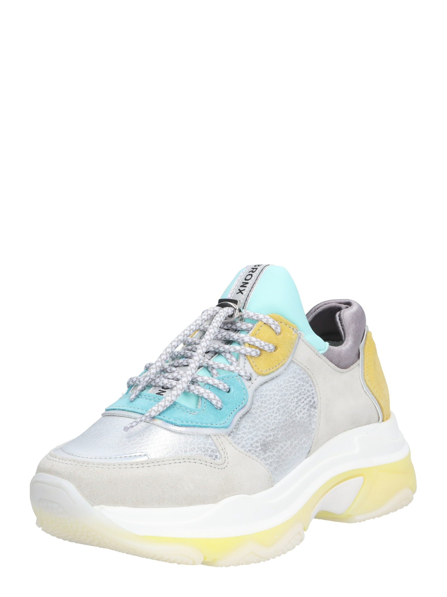 Tenisky Baisley béžová tyrkysová žlutá stříbrně šedá bílá BRONX