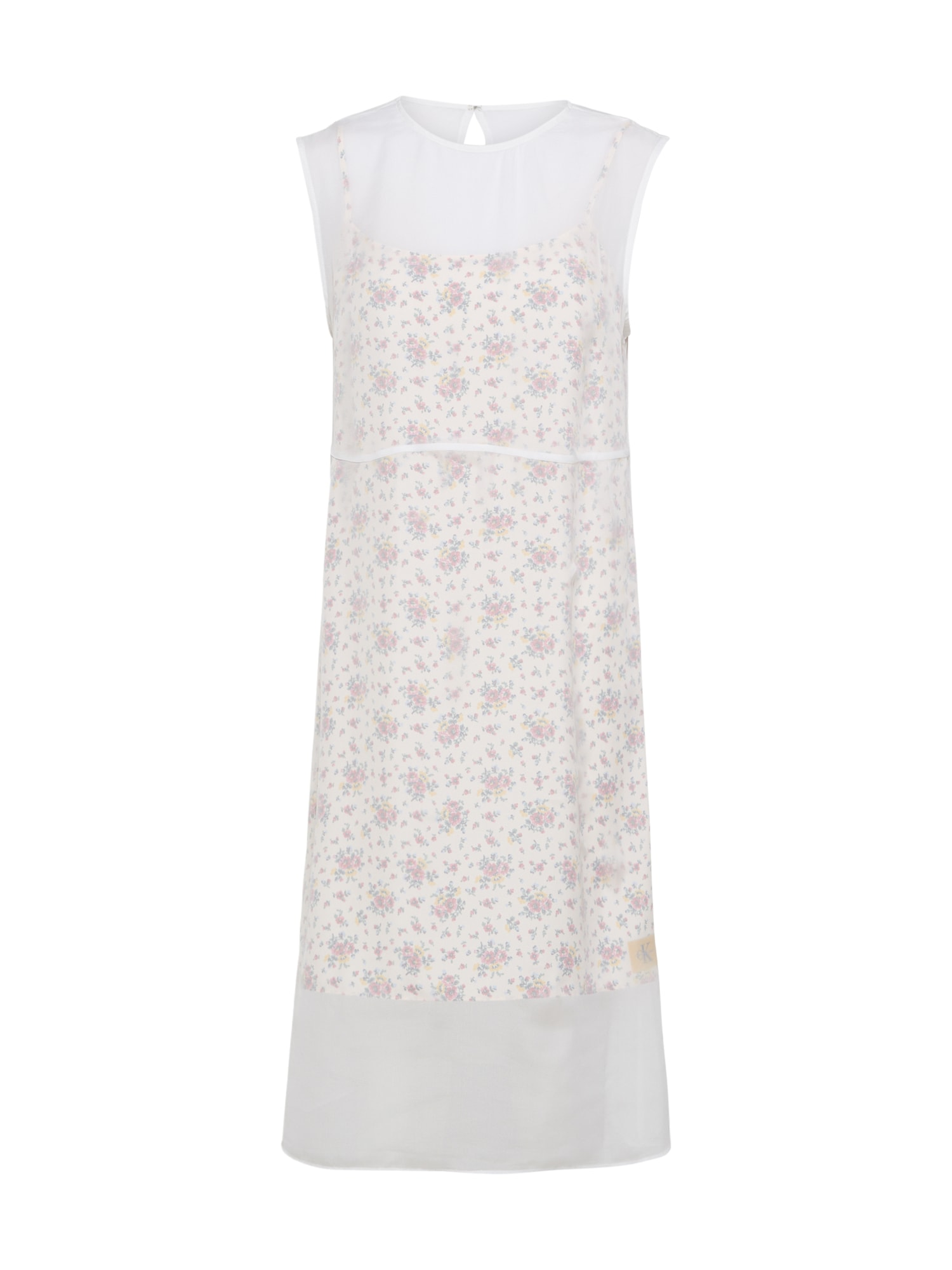 Koktejlové šaty DENISHA krémová Calvin Klein Jeans