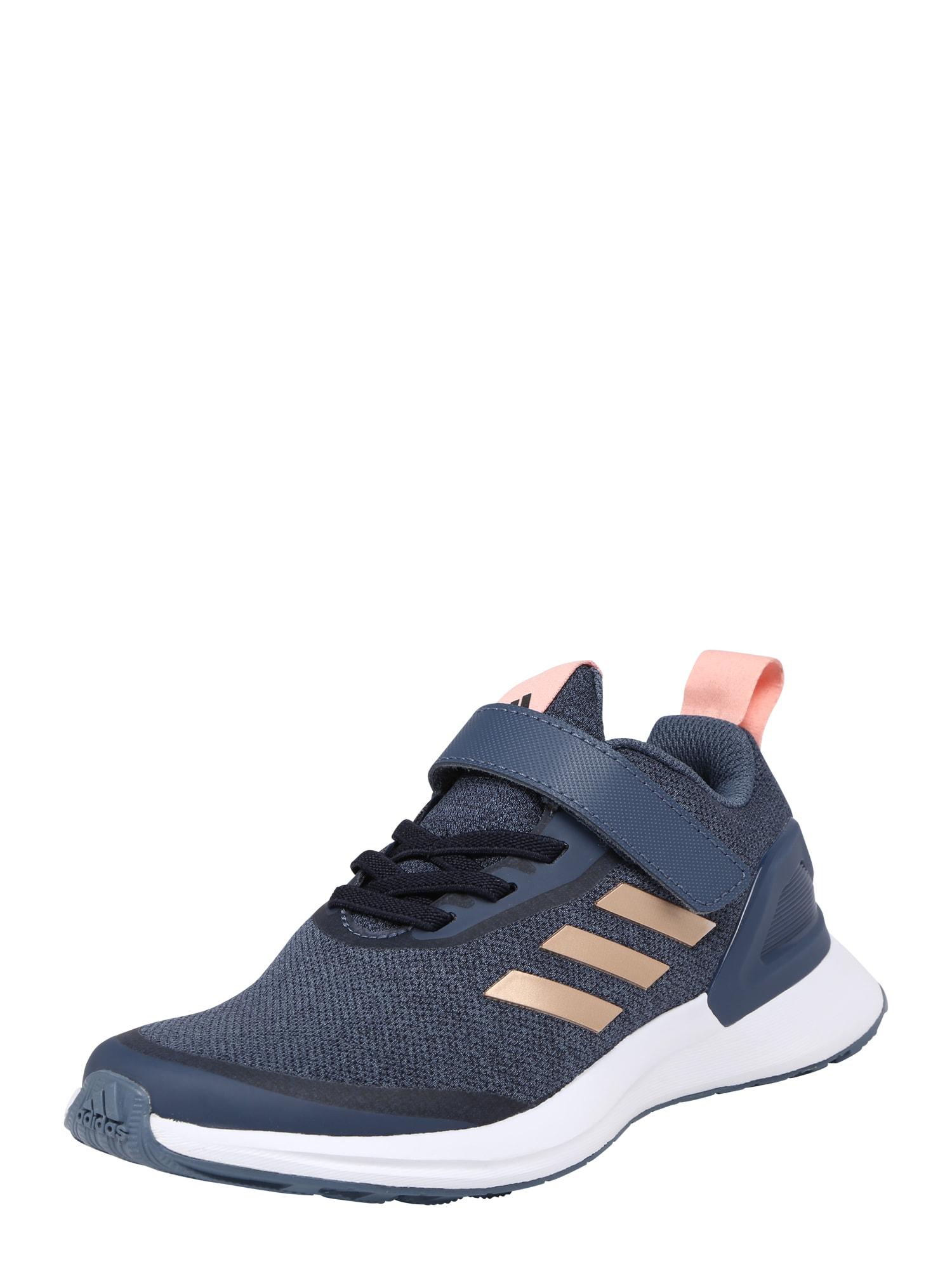 Sportovní boty RapidaRun X EL C modrá růžová bílá ADIDAS PERFORMANCE