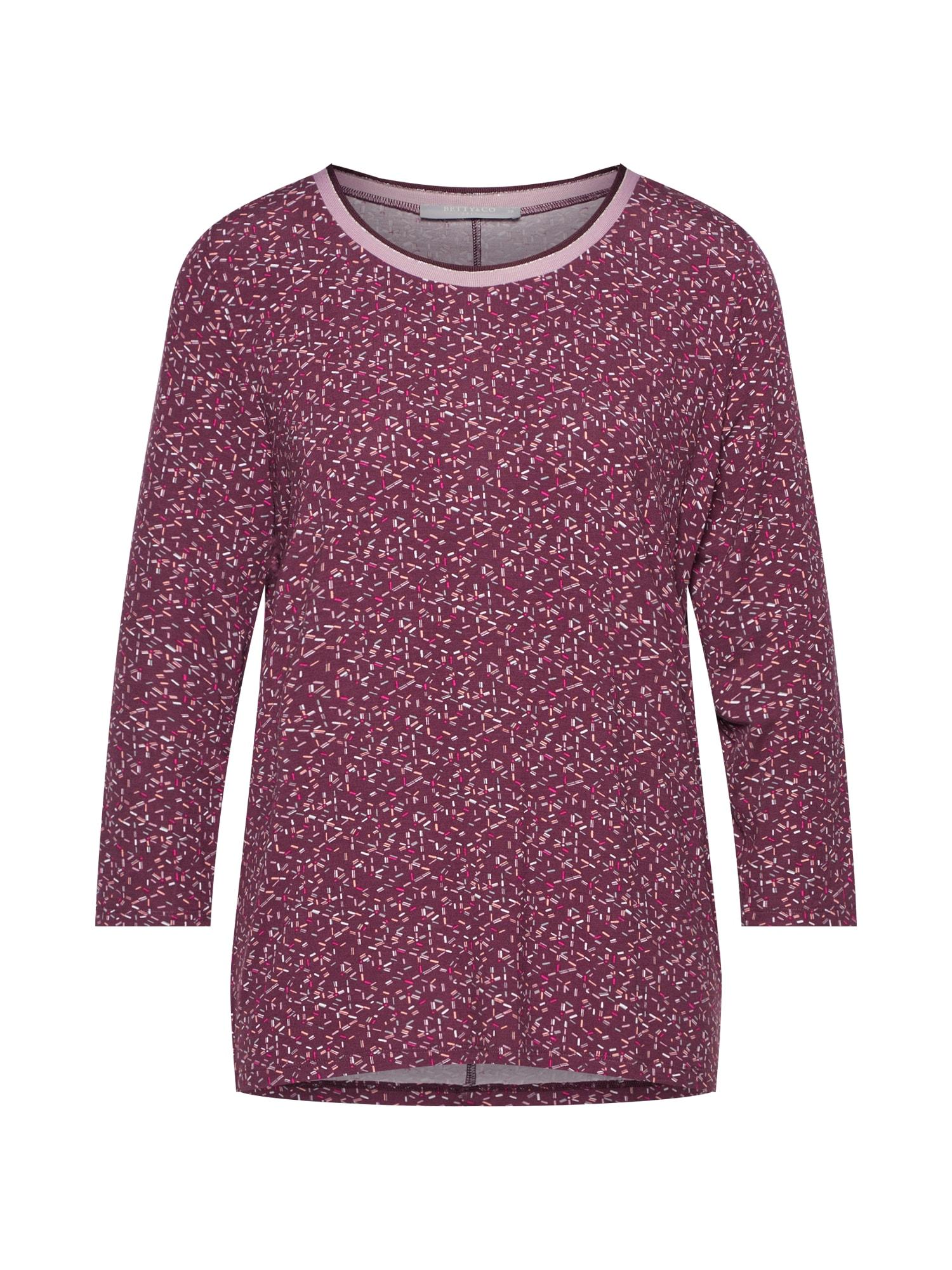 Tričko fialová Betty & Co