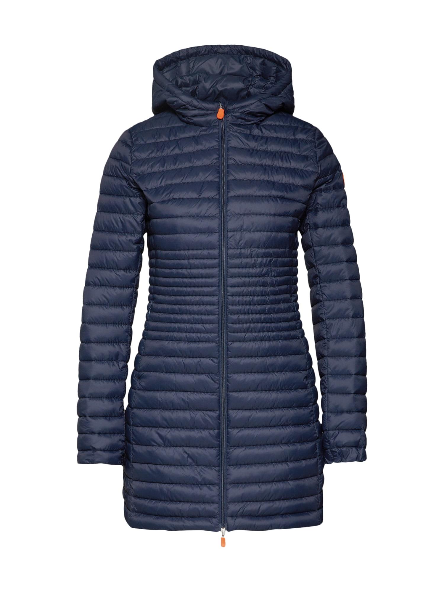 Zimní kabát GIGA8 tmavě modrá černá SAVE THE DUCK