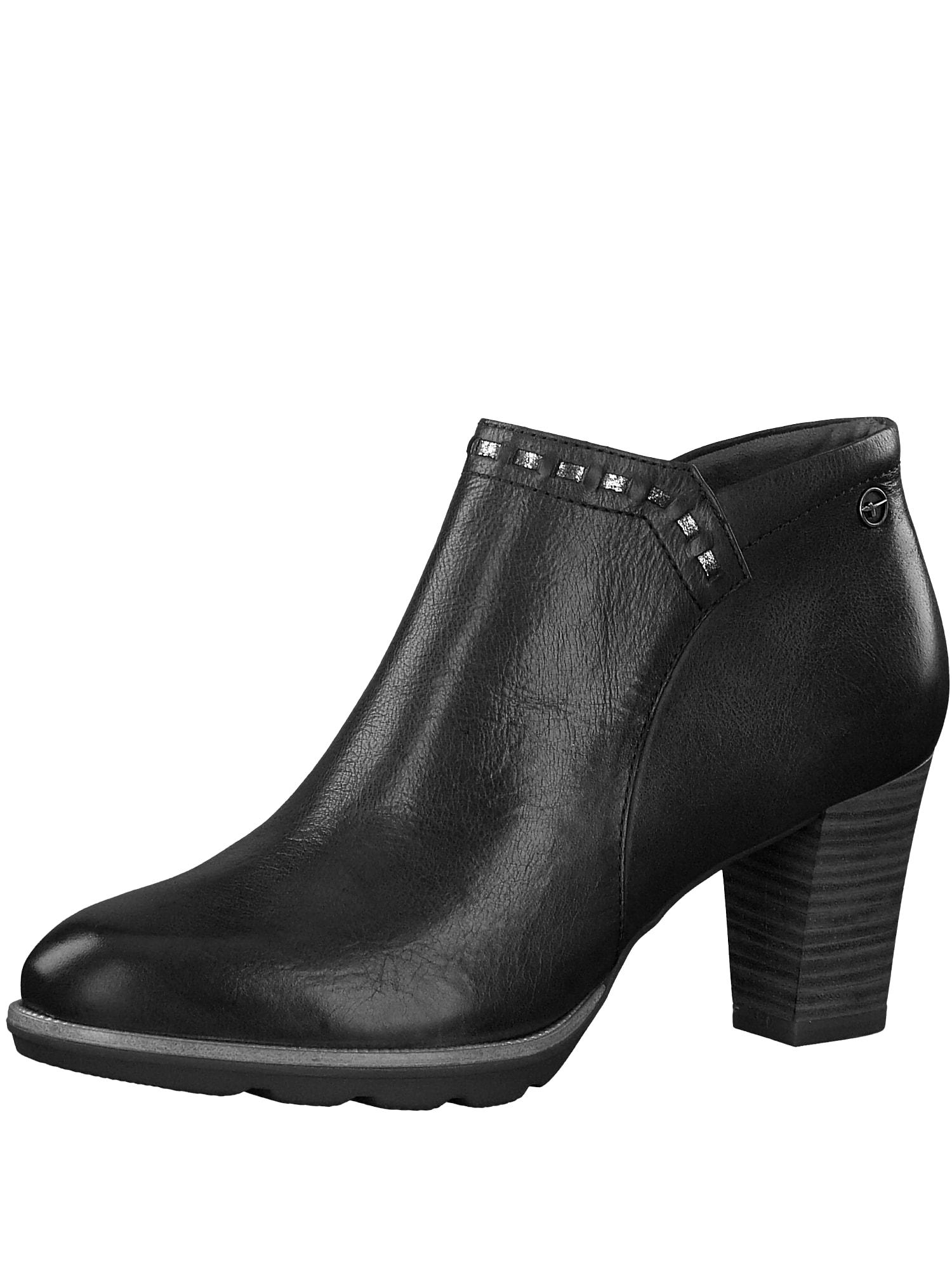Kotníkové boty Fee černá TAMARIS
