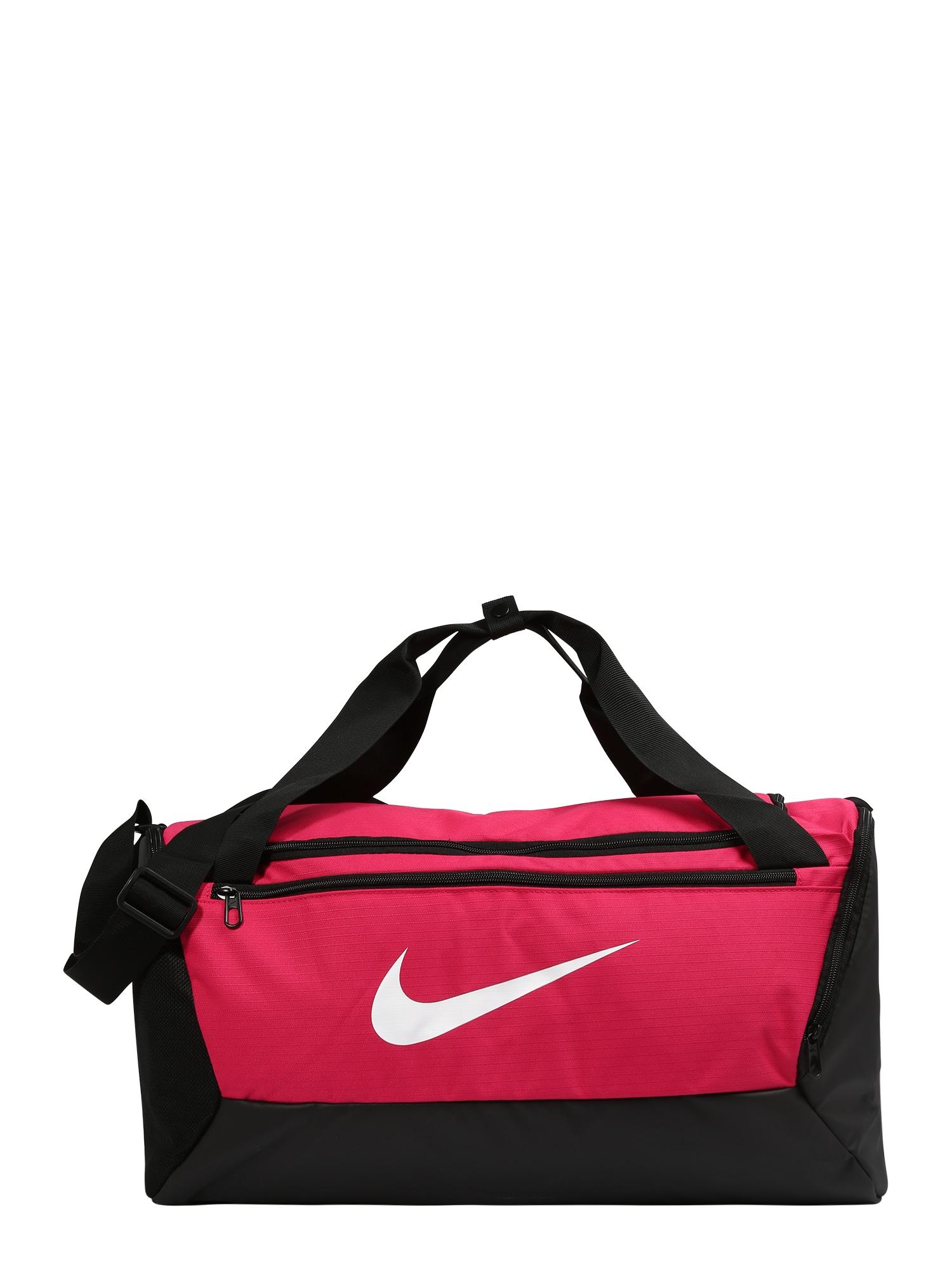 Sportovní taška BRSLA S DUFF - 9.0 pink černá NIKE