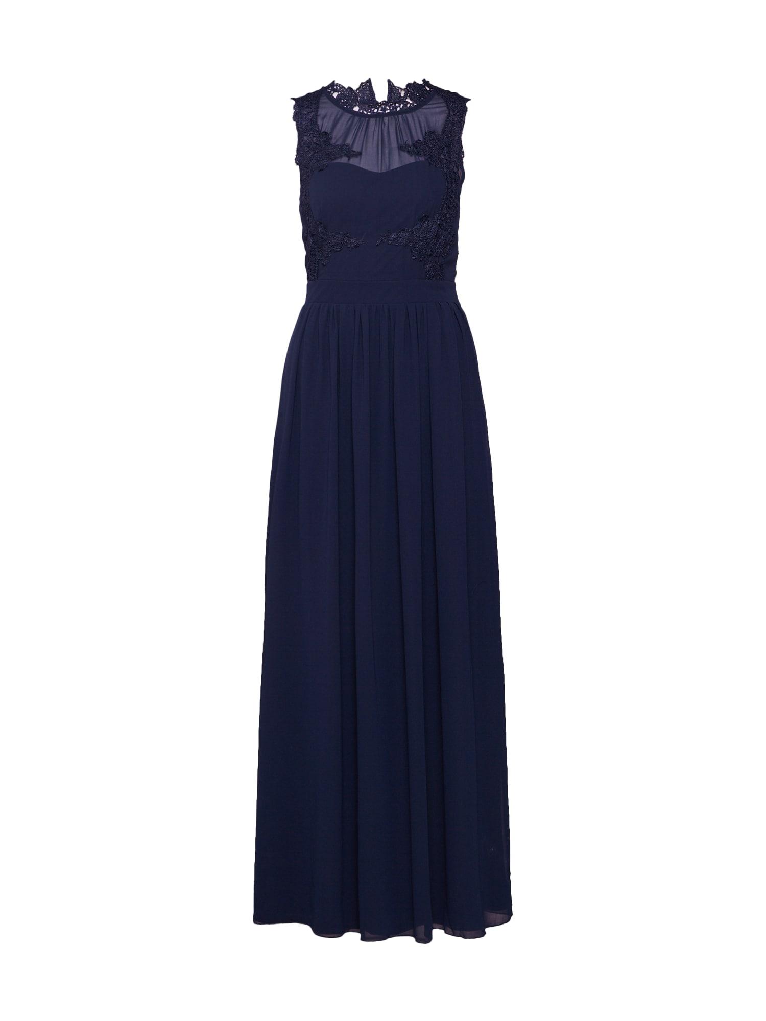 Společenské šaty Georgious námořnická modř VILA