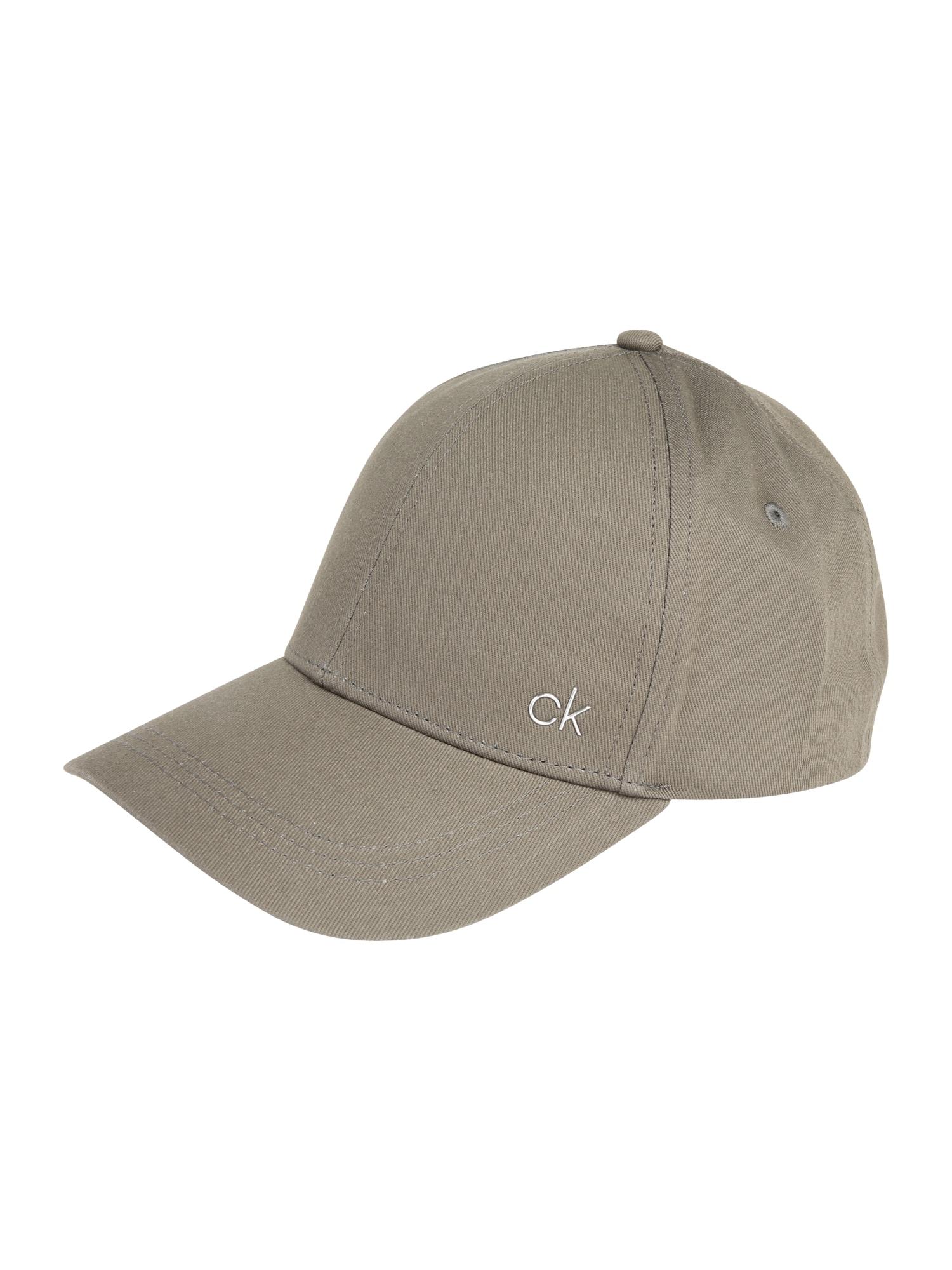 Kšiltovka CK METAL CAP zelená Calvin Klein