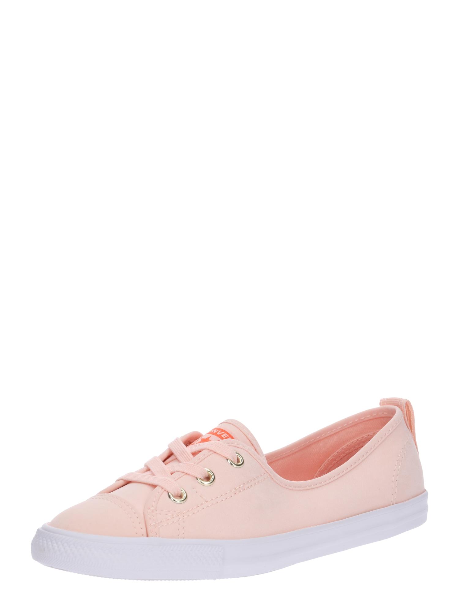 Šněrovací boty růžová bílá CONVERSE
