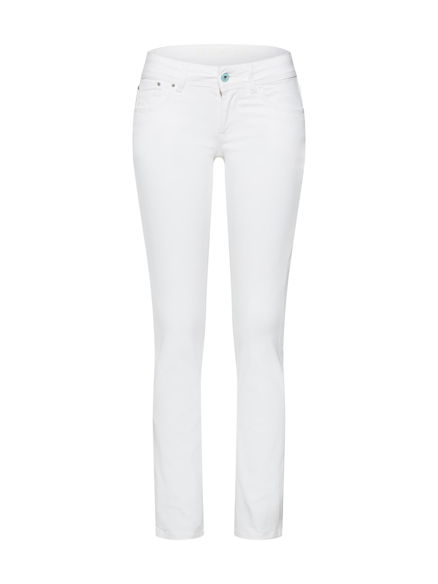 Džíny Saturn bílá Pepe Jeans