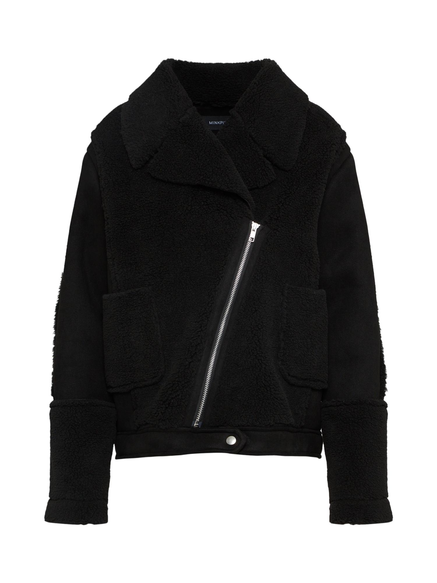Zimní bunda ALISSA SHERPA černá MINKPINK