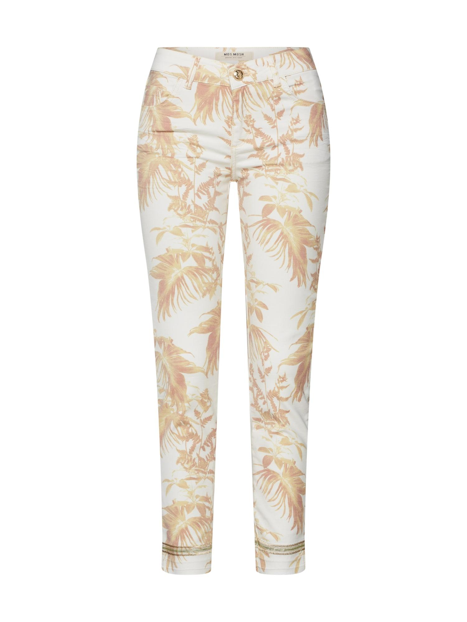 Kalhoty Sumner Cannes Pant krémová žlutá MOS MOSH