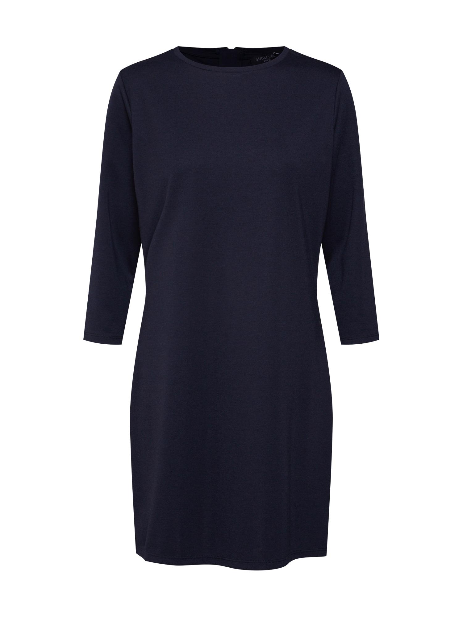 Šaty noční modrá Sublevel