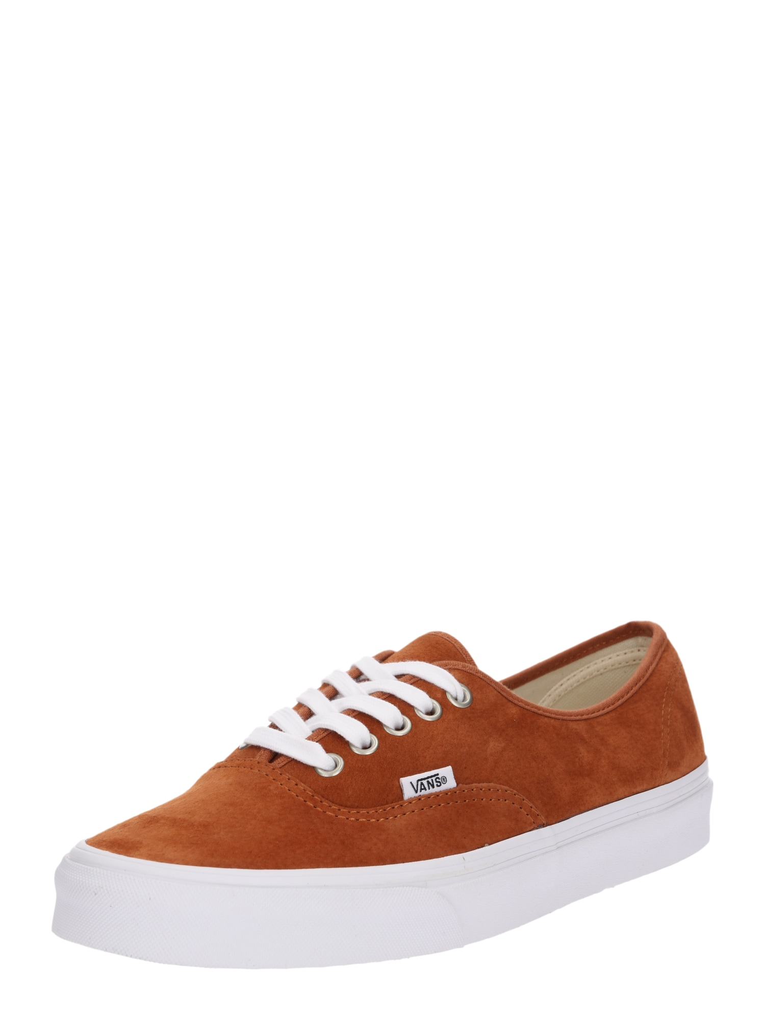 VANS, Heren Sneakers laag 'Authentic', cognac / wit