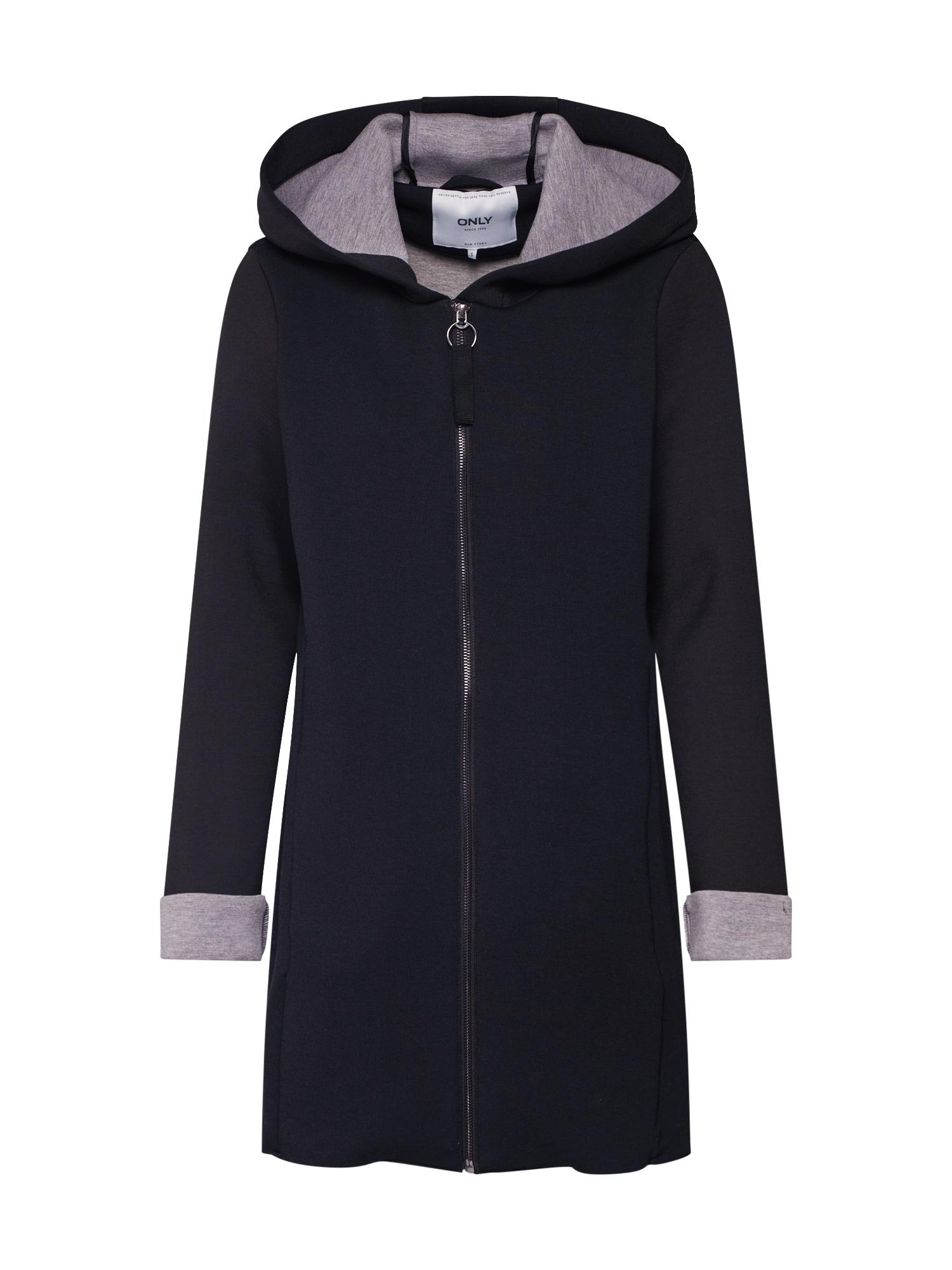 Přechodný kabát onlLENA BONDED COAT OTW černá ONLY