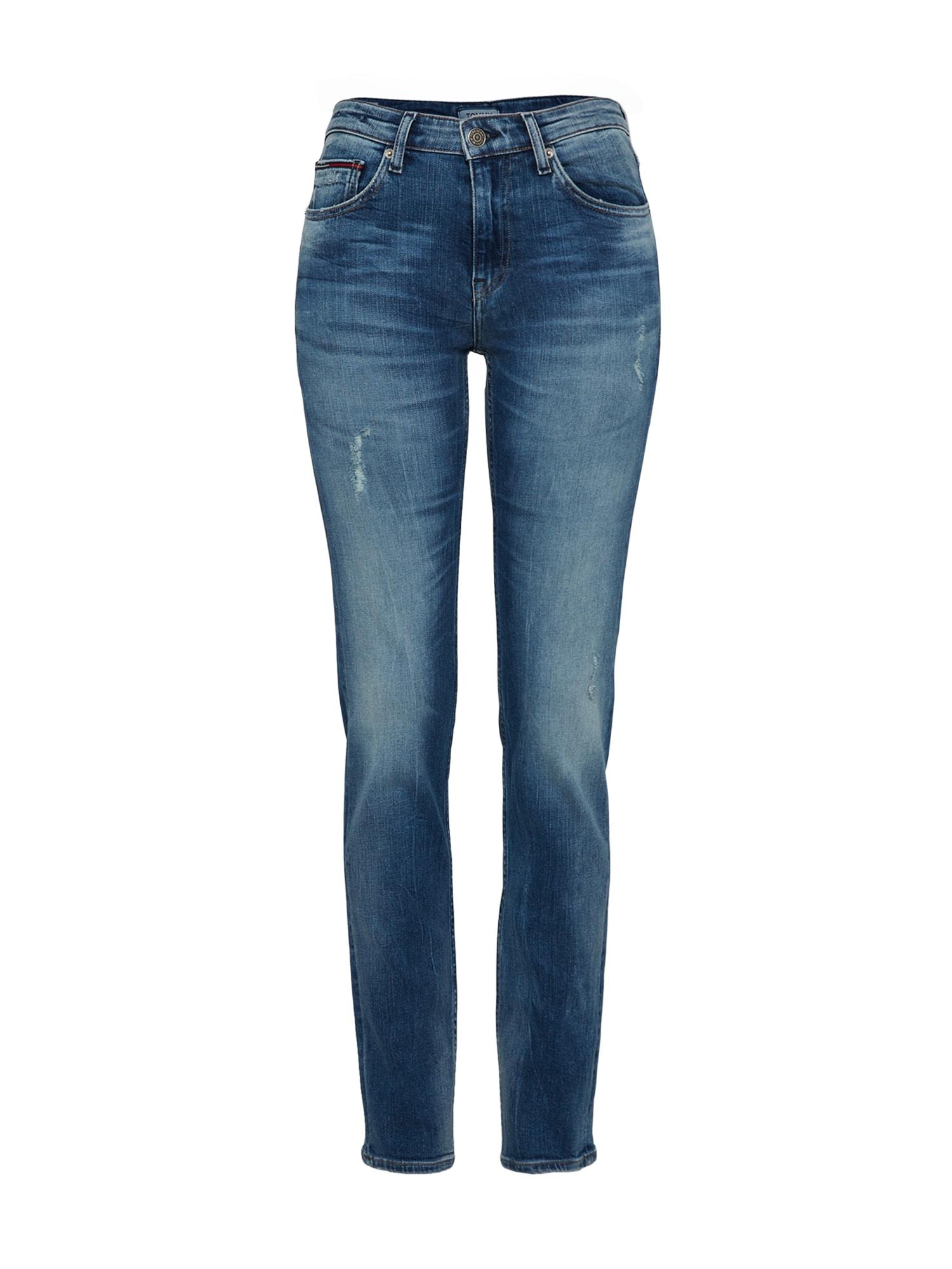 Džíny MID RISE SLIM TJ 1972 modrá džínovina Tommy Jeans