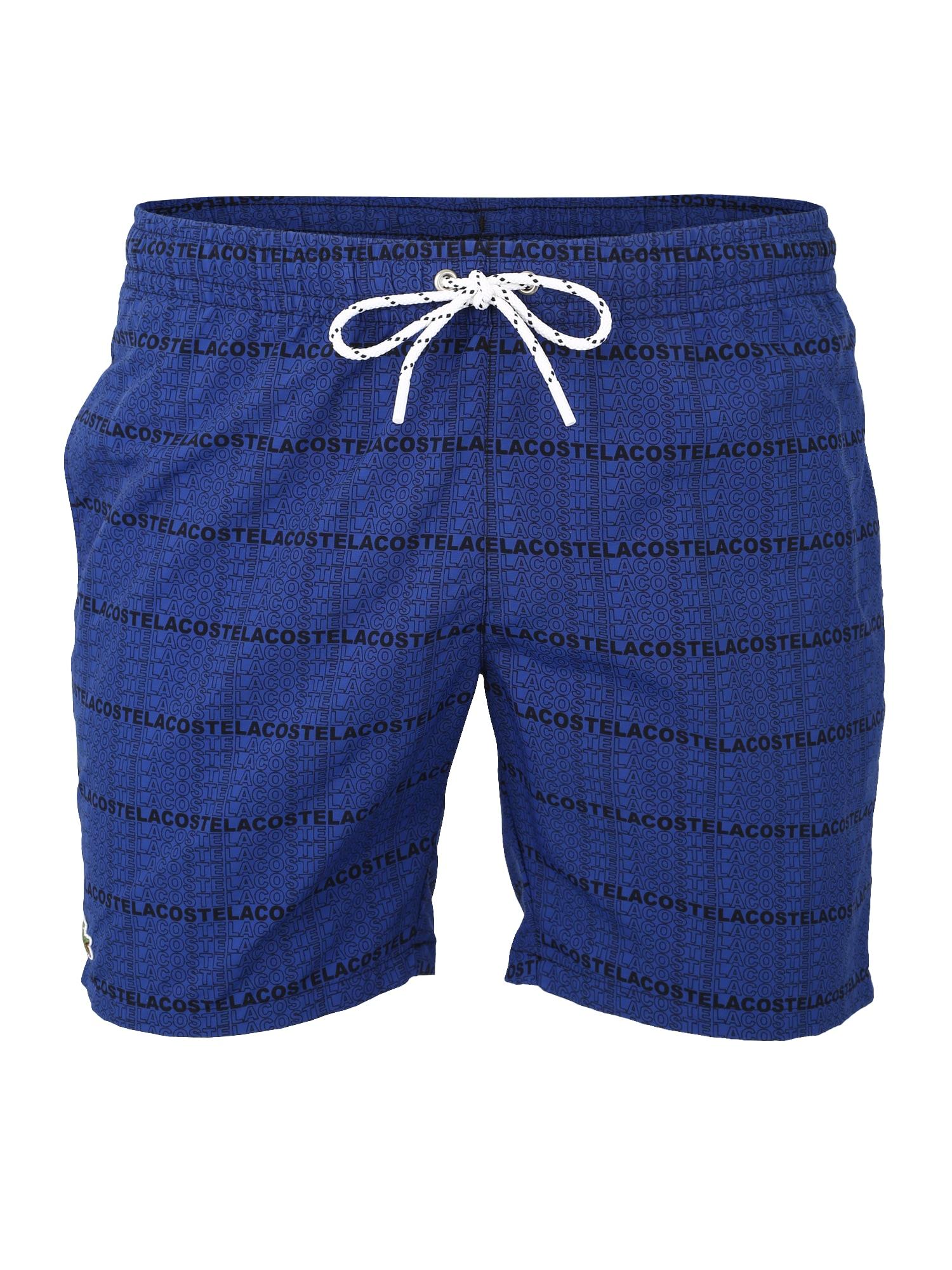 Plavecké šortky MAILLOT DE BAIN černá LACOSTE