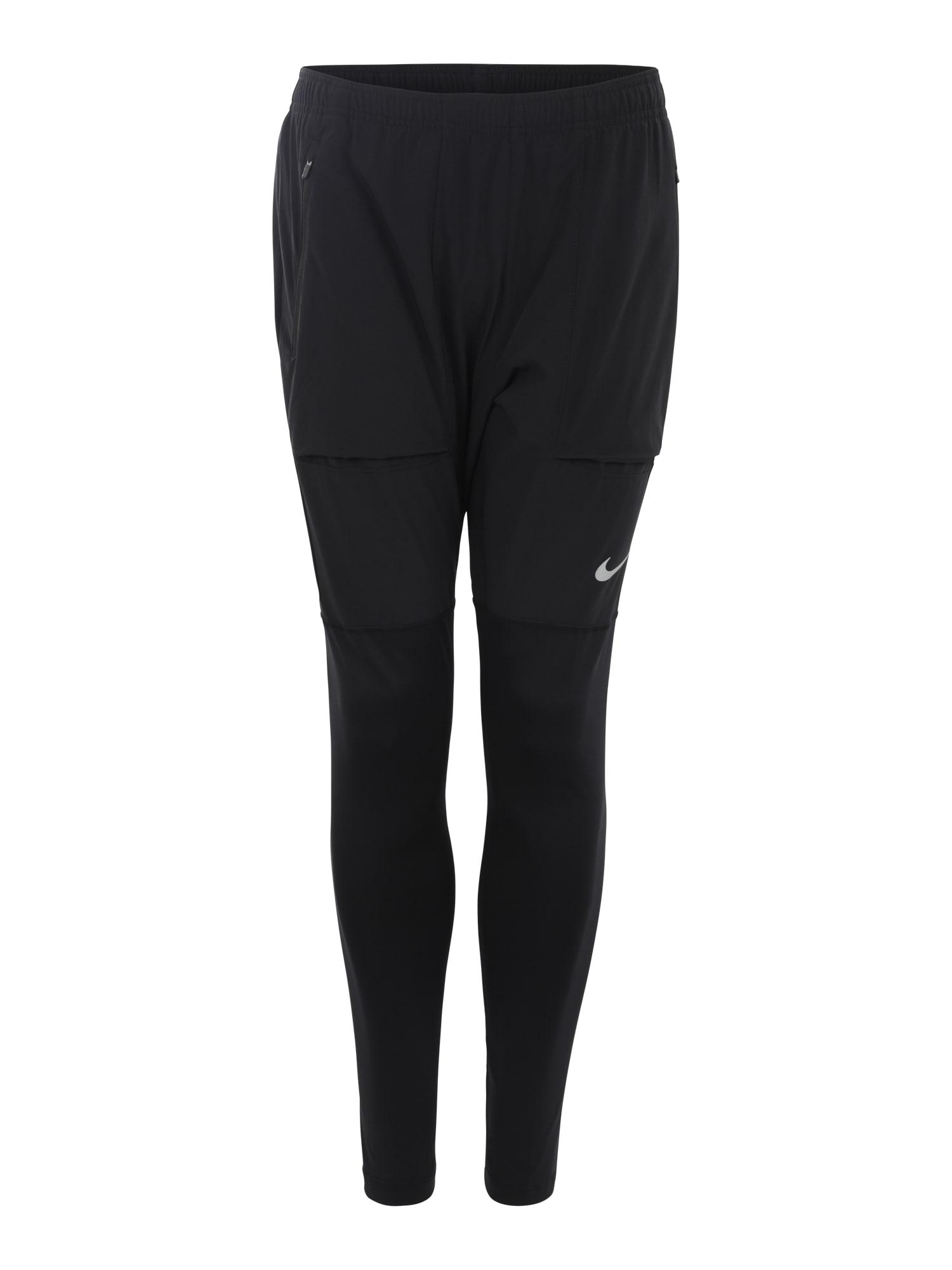 Sportovní kalhoty ESSENTIALS HYBRID PANT černá NIKE