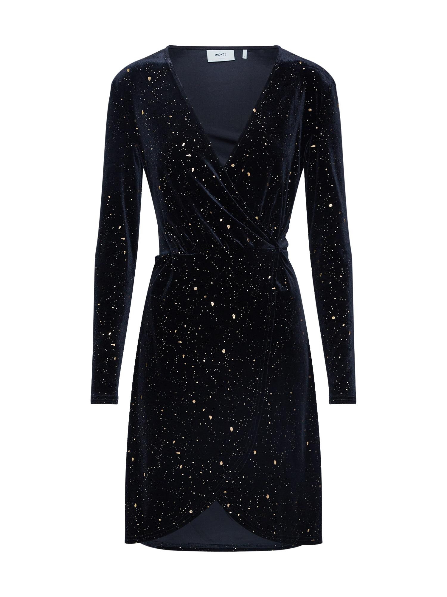 Koktejlové šaty Vimma zlatá černá Moves