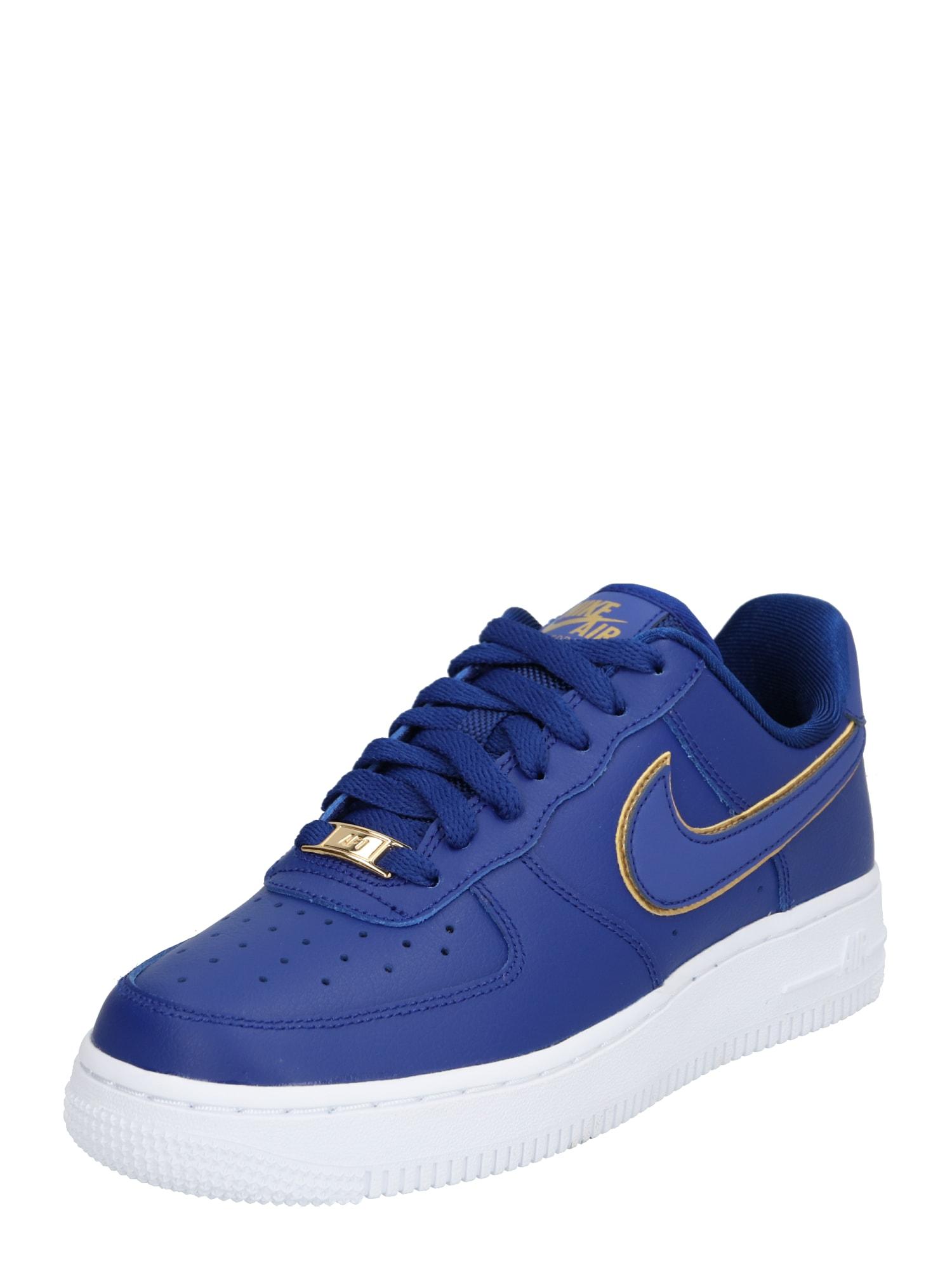 Nike Sportswear Tenisky 'Air Force 1 '07 Essential'  tmavě modrá