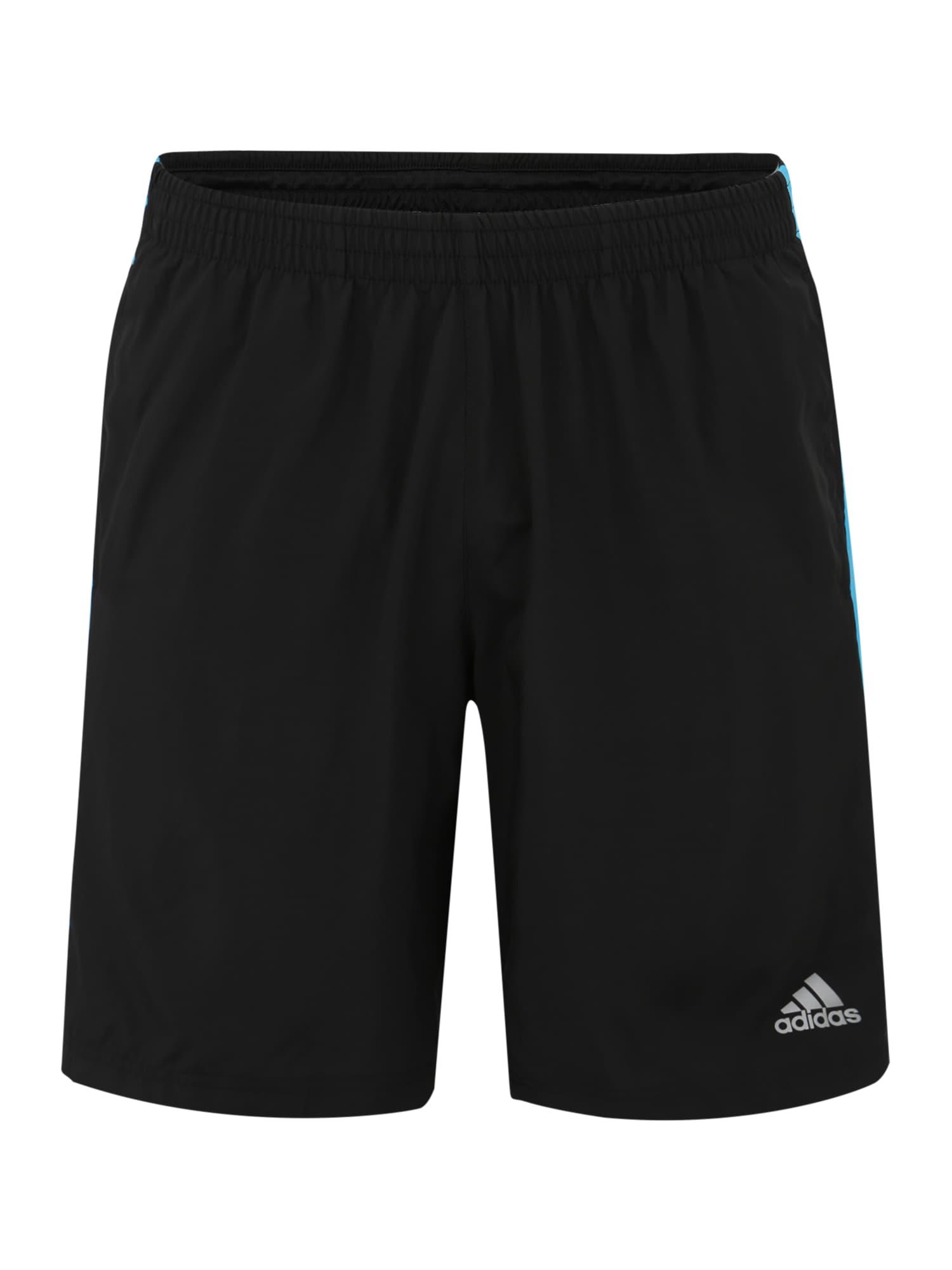Sportovní kalhoty Response modrá černá ADIDAS PERFORMANCE