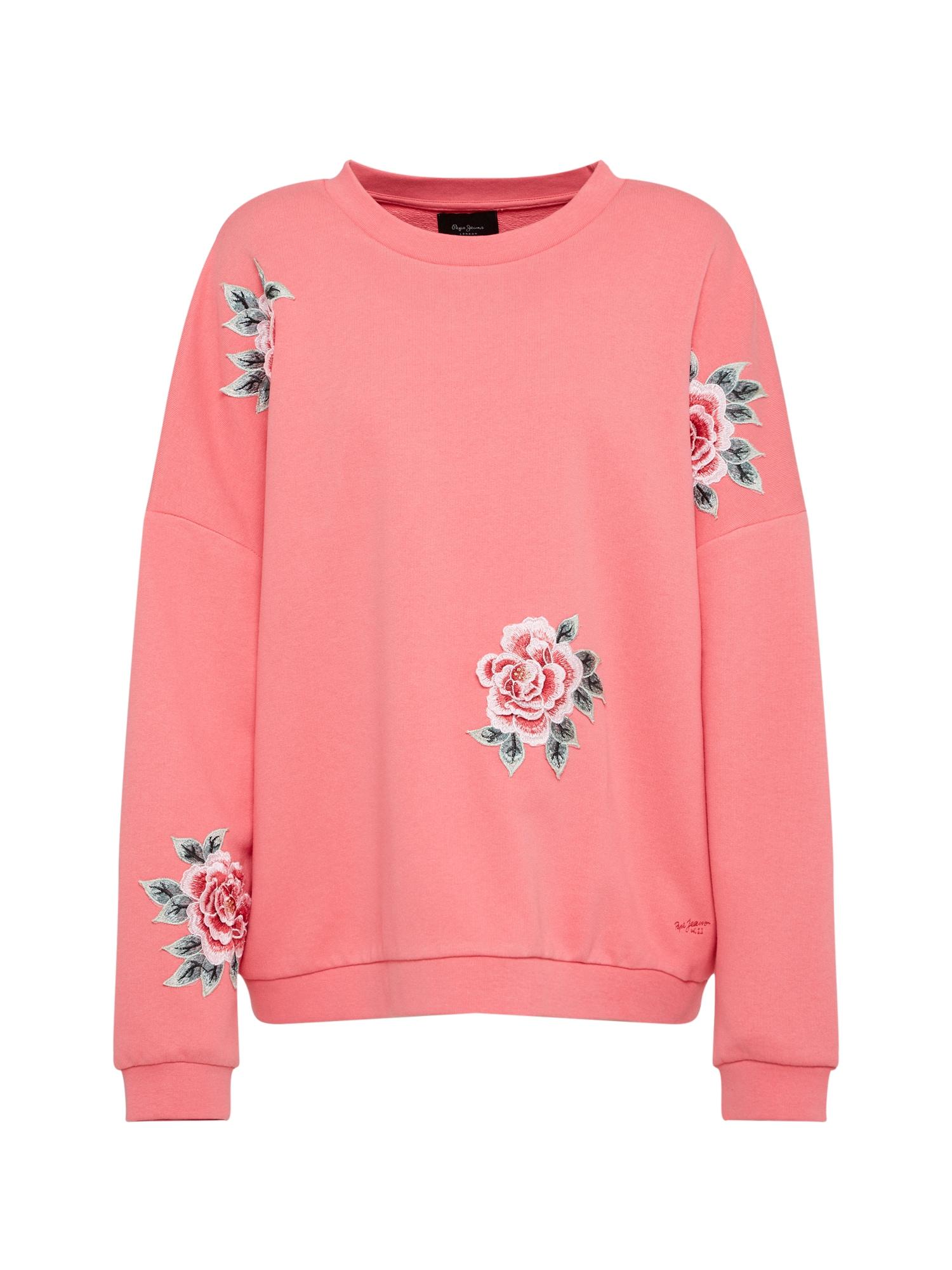 Mikina Rose růžová Pepe Jeans