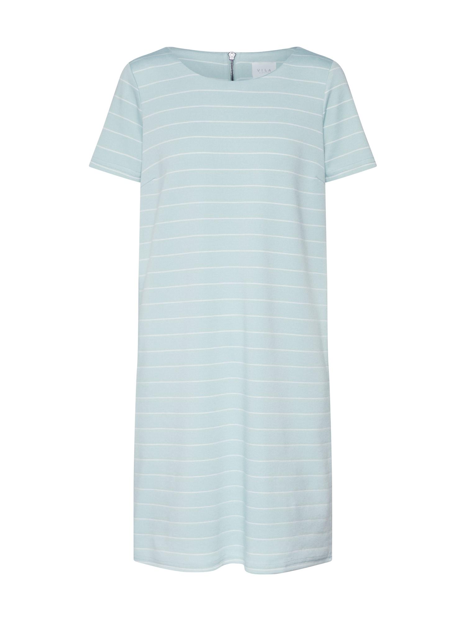Šaty VITinny New světlemodrá bílá VILA