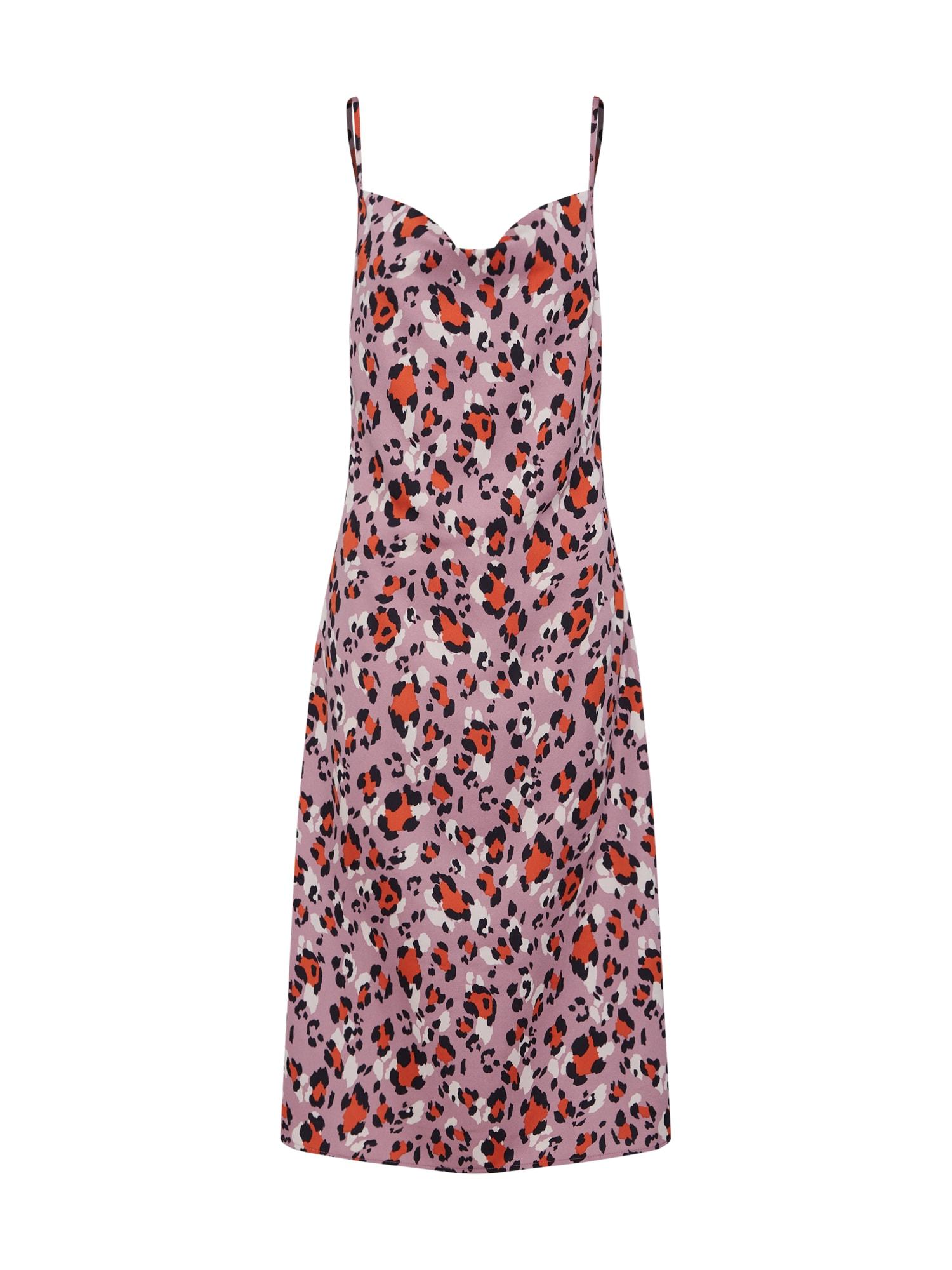 Šaty Belle Dress fialová oranžová pink 4th & Reckless