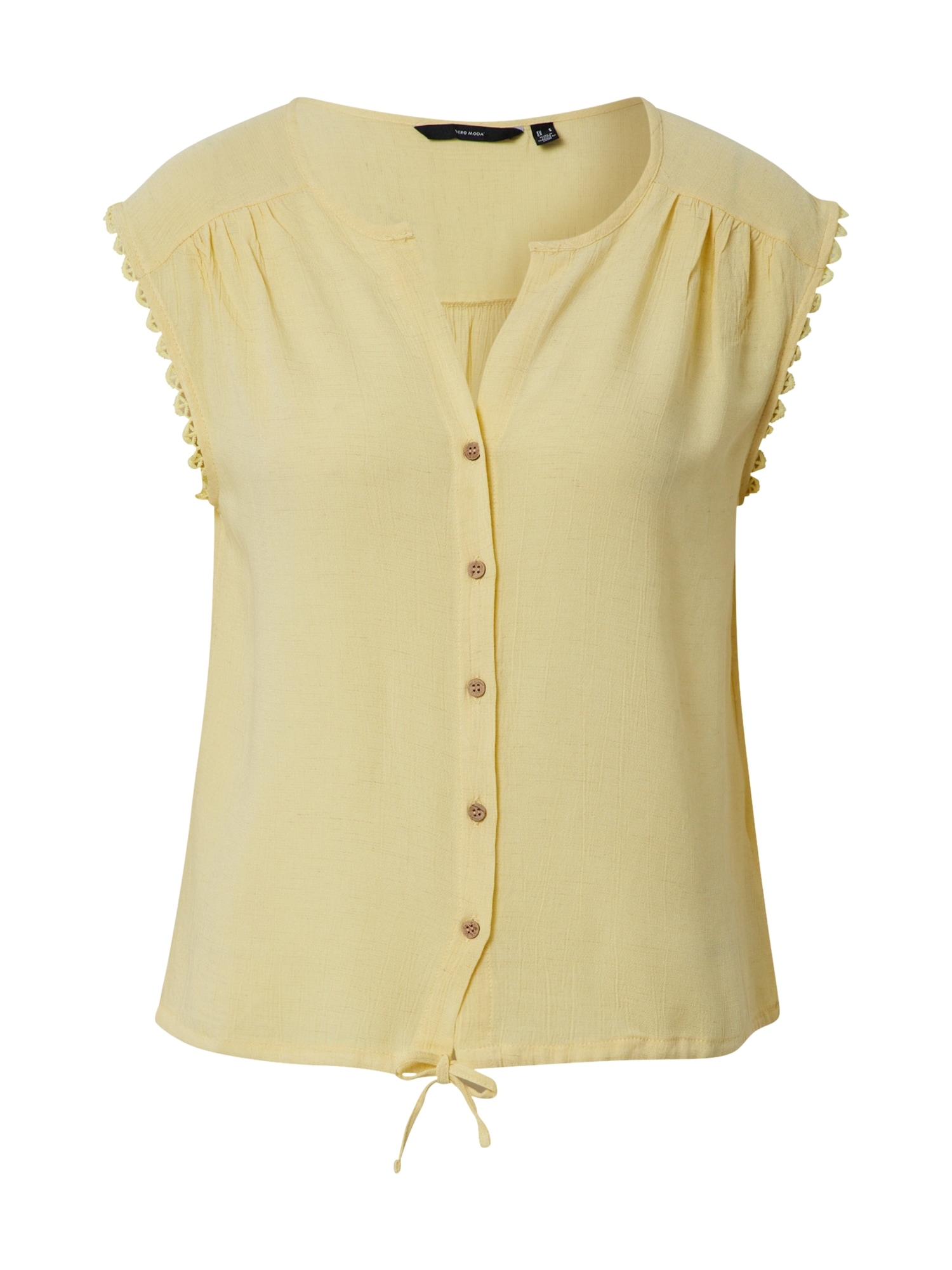 VERO MODA Tričko 'VMNAOMI'  žlutá