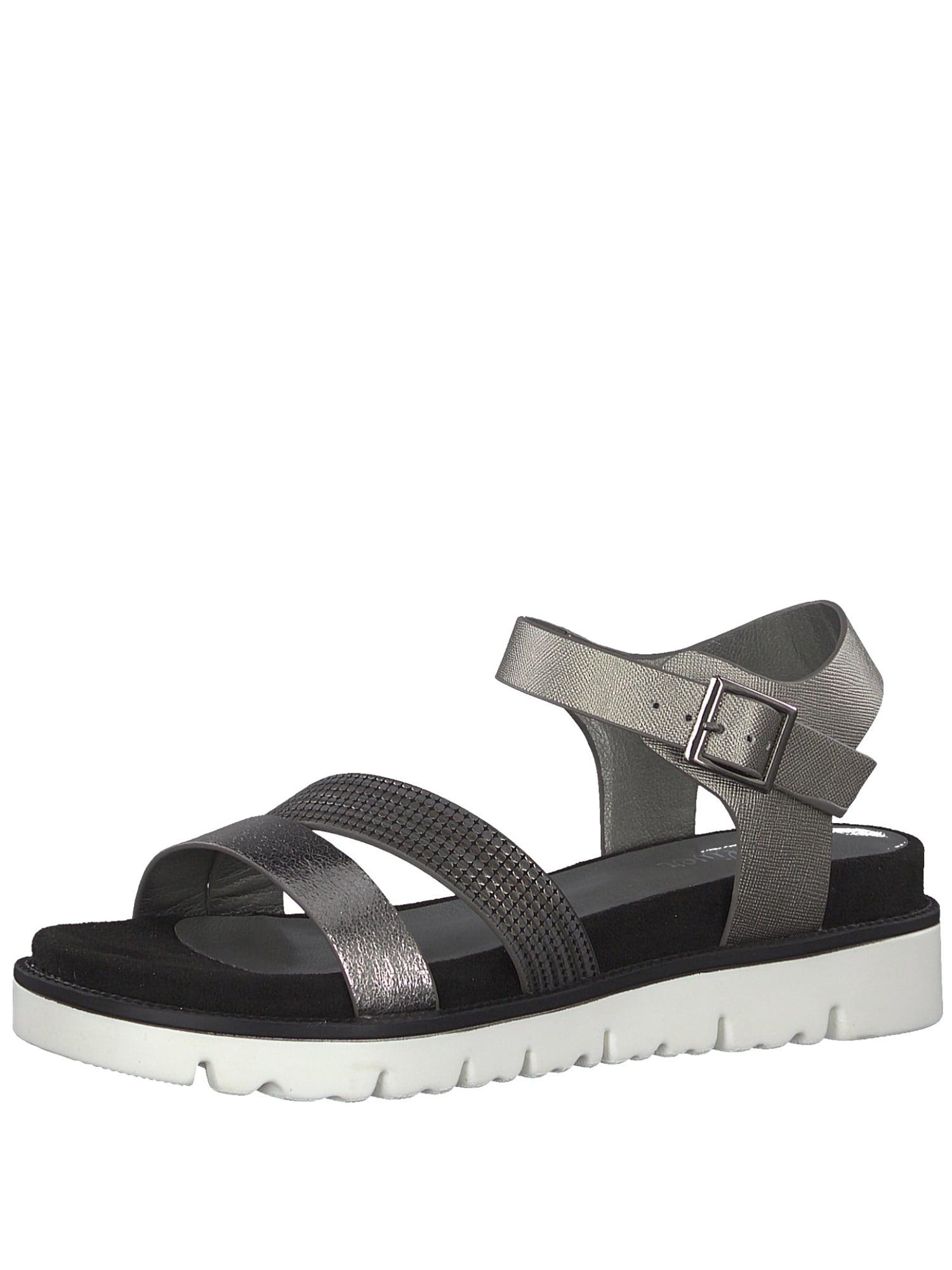 Páskové sandály tmavě šedá S.Oliver RED LABEL